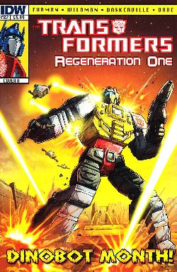 Transformers Regeneration One #82 Cover A [Comic] LARGE