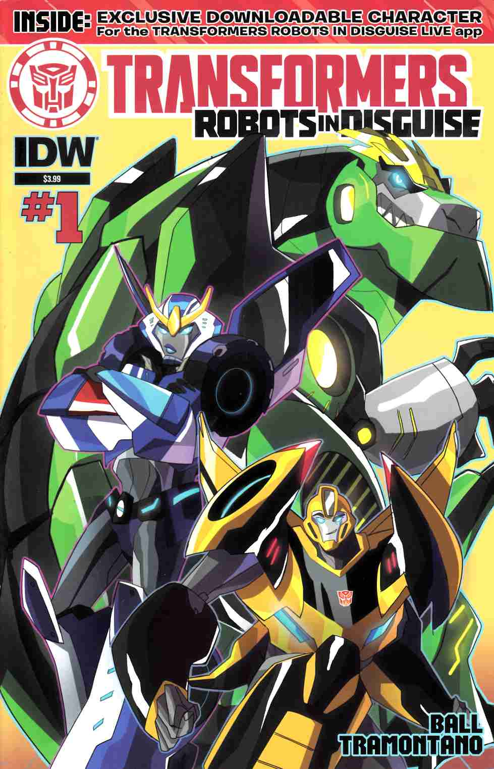 Transformers Robots in Disguise Animated #1 [IDW Comic] THUMBNAIL