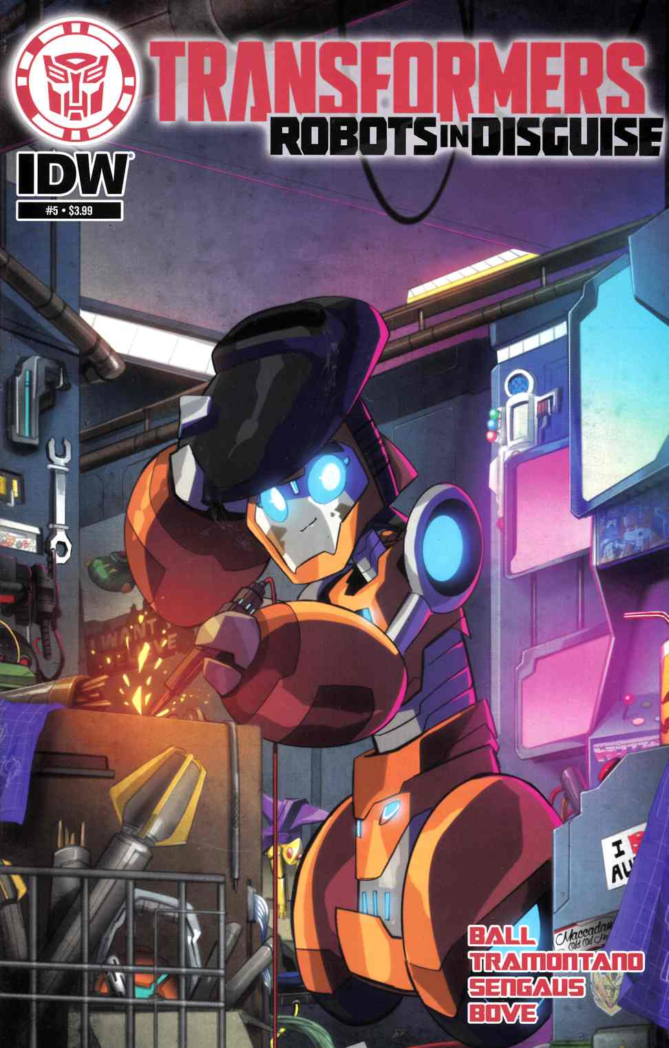 Transformers Robots in Disguise Animated #5 [IDW Comic]