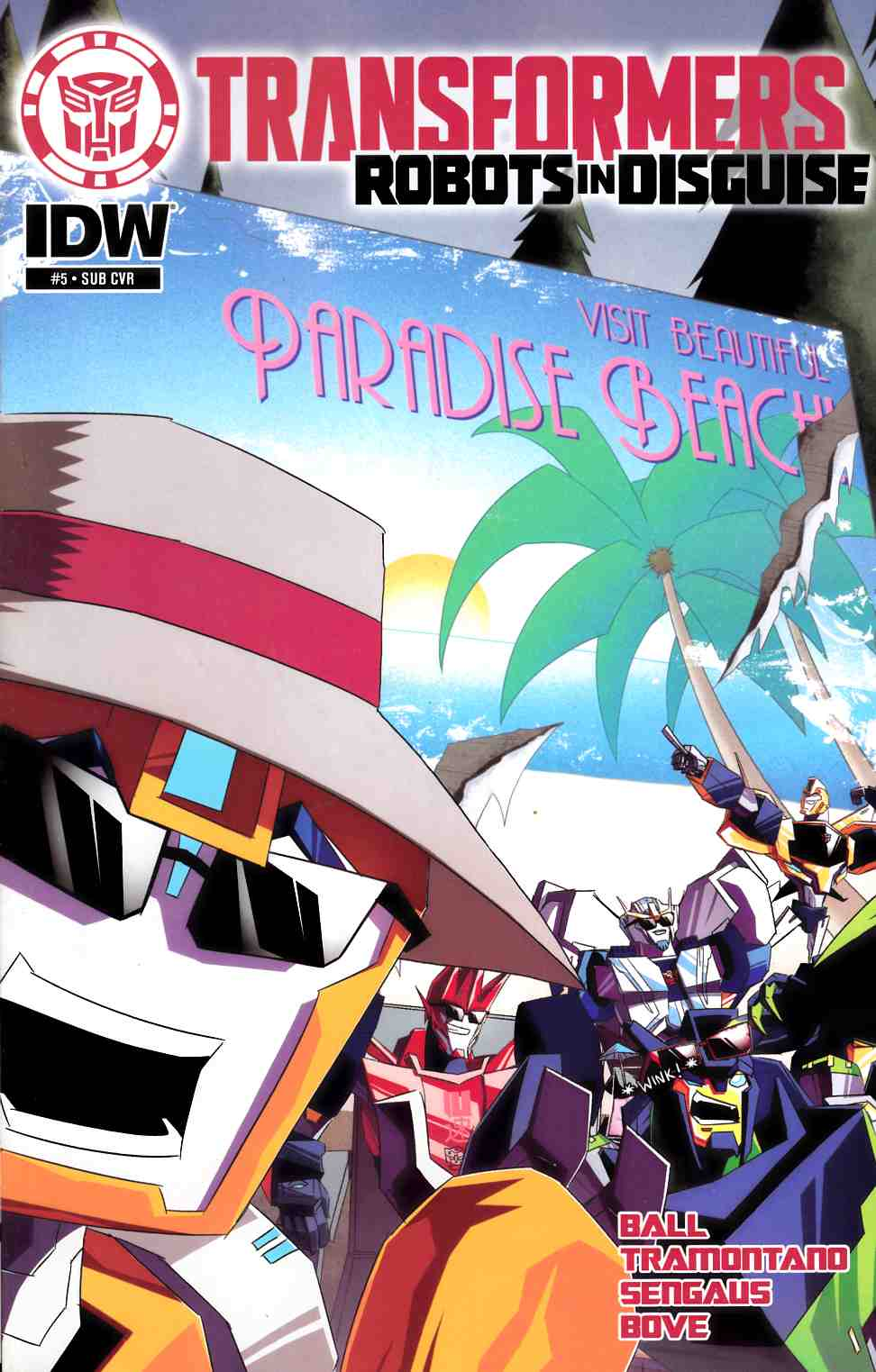 Transformers Robots in Disguise Animated #5 Subscription Cover [IDW Comic] THUMBNAIL