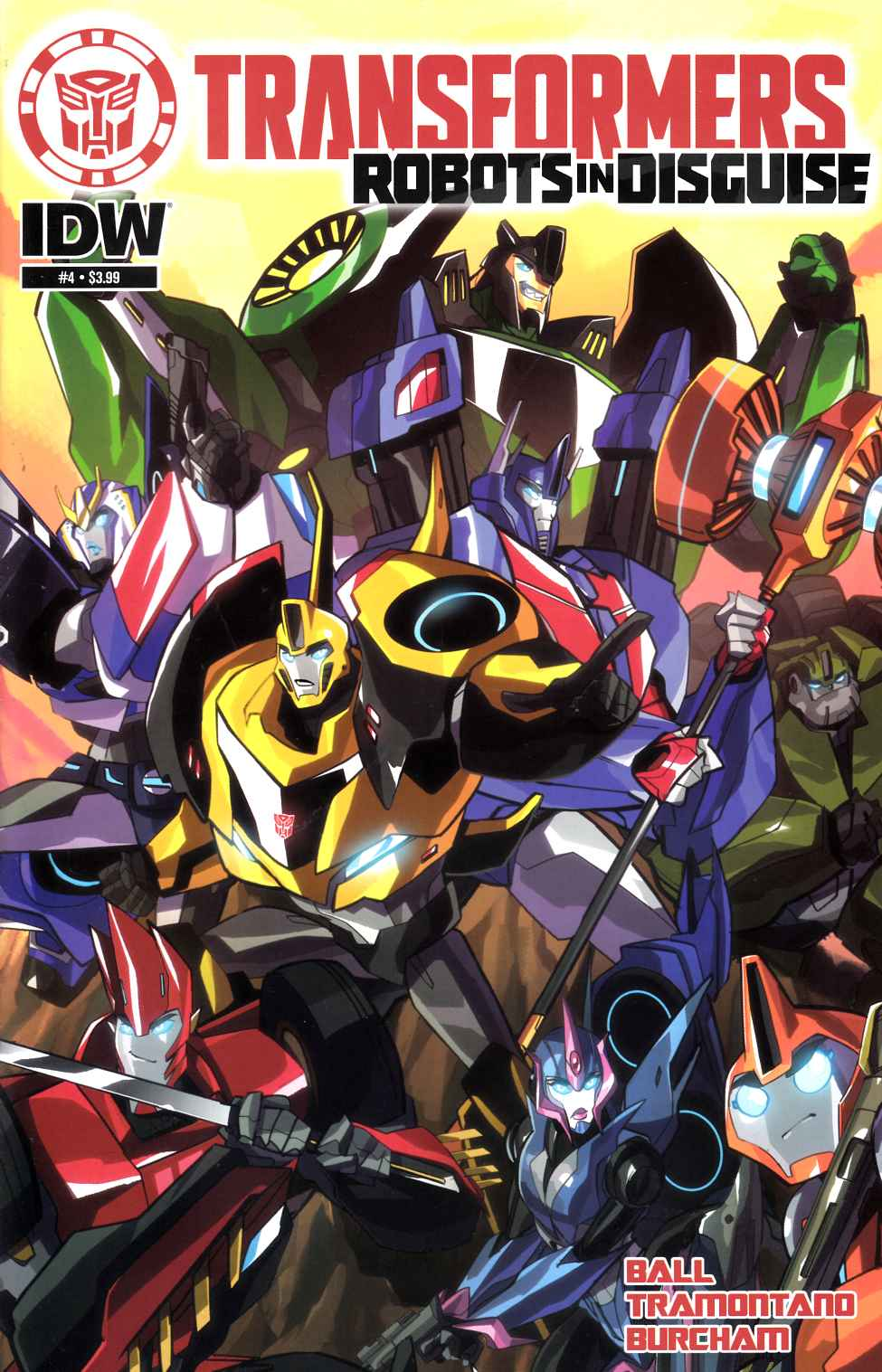 Transformers Robots in Disguise Animated #4 [IDW Comic] THUMBNAIL