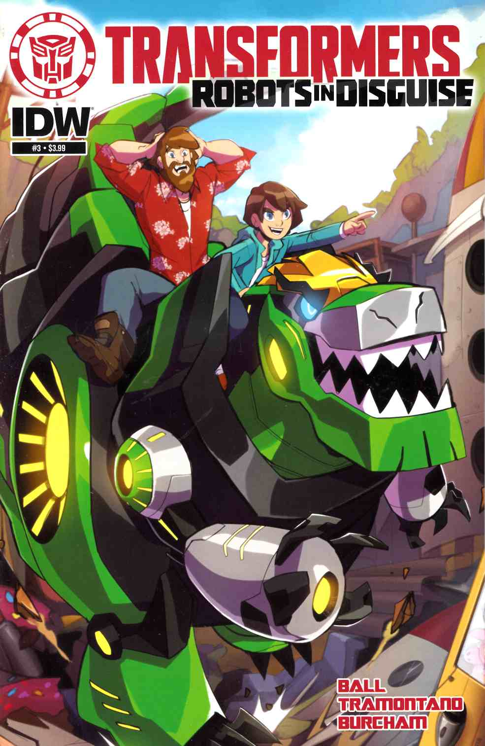 Transformers Robots in Disguise Animated #3 [IDW Comic] THUMBNAIL