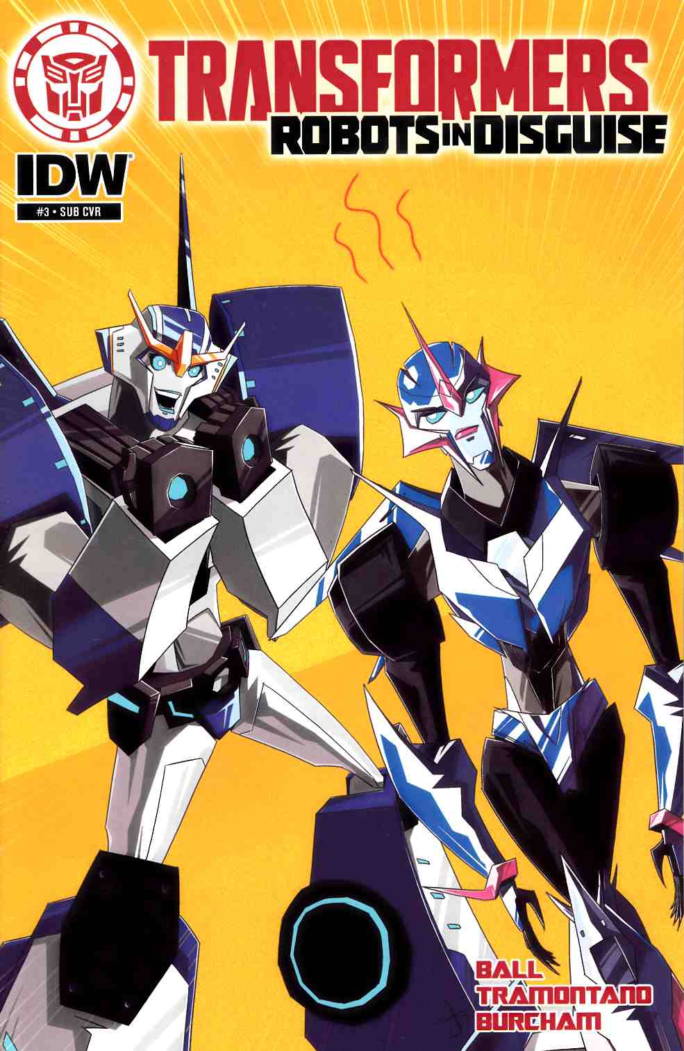 Transformers Robots in Disguise Animated #3 Subscription Cover [IDW Comic] THUMBNAIL