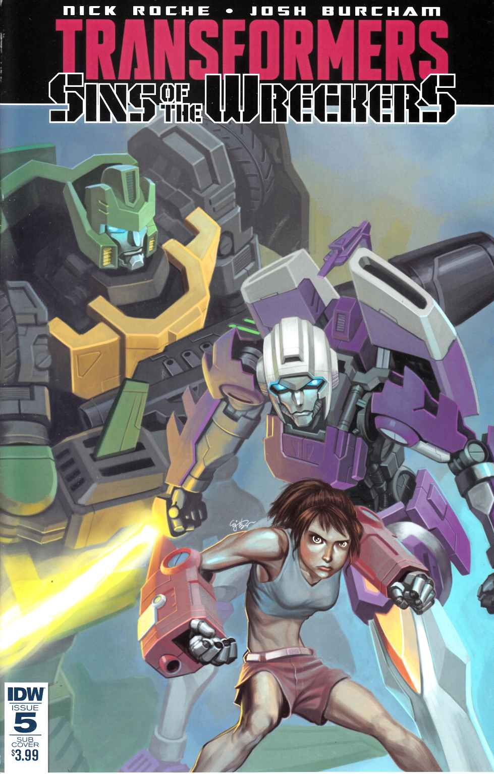 Transformers Sins of Wreckers #5 Subscription Cover [IDW Comic] THUMBNAIL