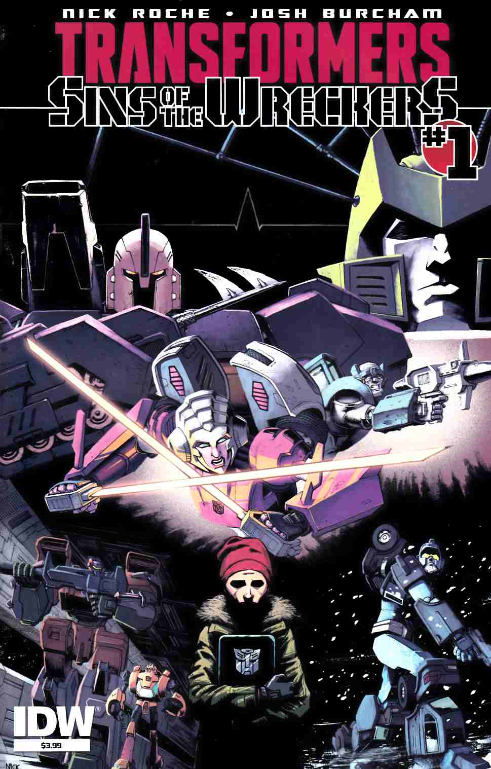 Transformers Sins of Wreckers #1 [IDW Comic] THUMBNAIL