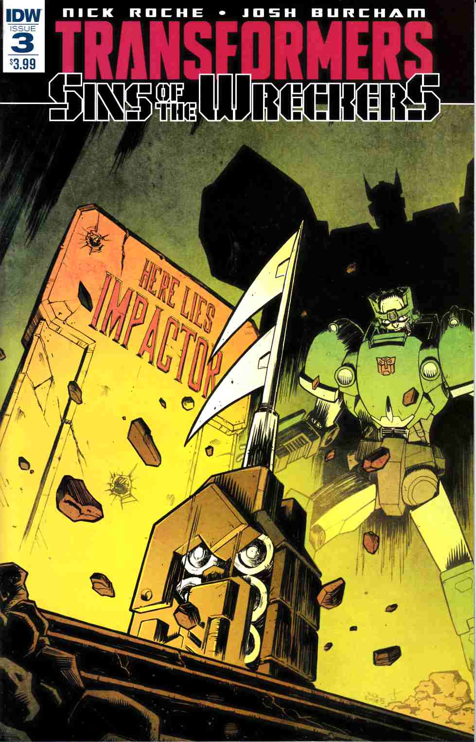 Transformers Sins of Wreckers #3 [IDW Comic] THUMBNAIL