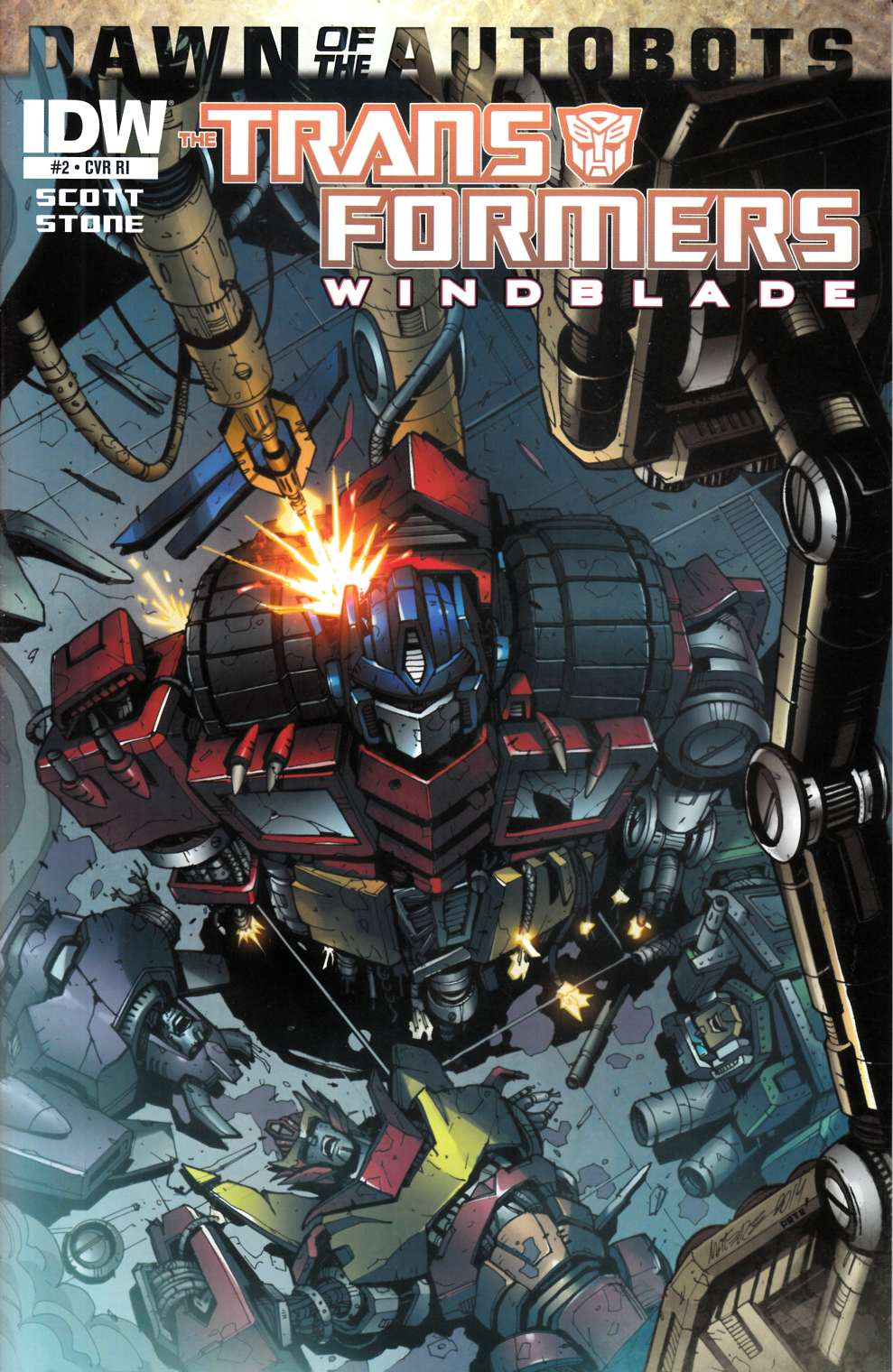 Transformers Windblade #2 Subscription Cover [Comic] THUMBNAIL