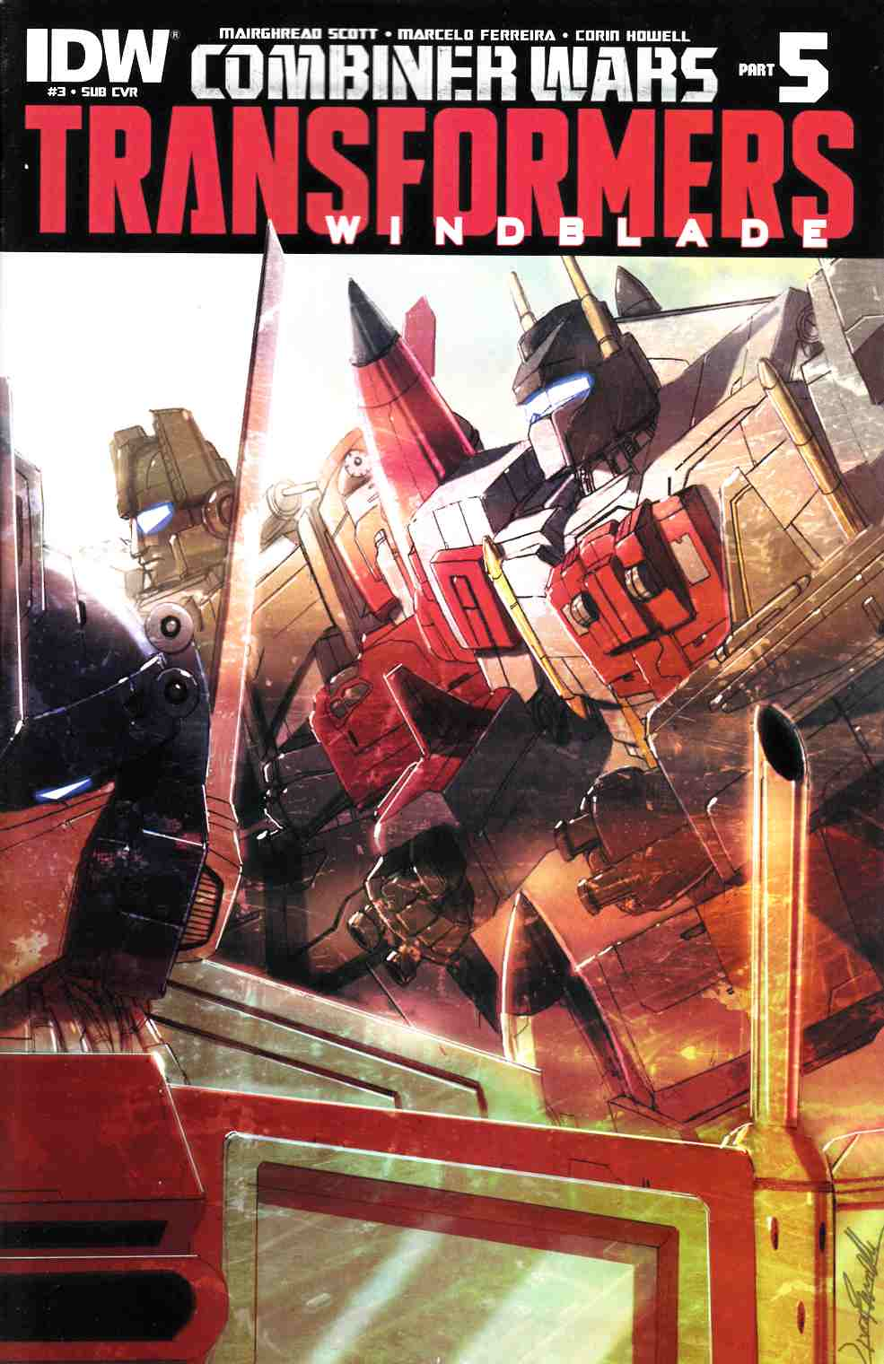 Transformers Windblade Combiner Wars #3 Subscription Cover [IDW Comic] THUMBNAIL