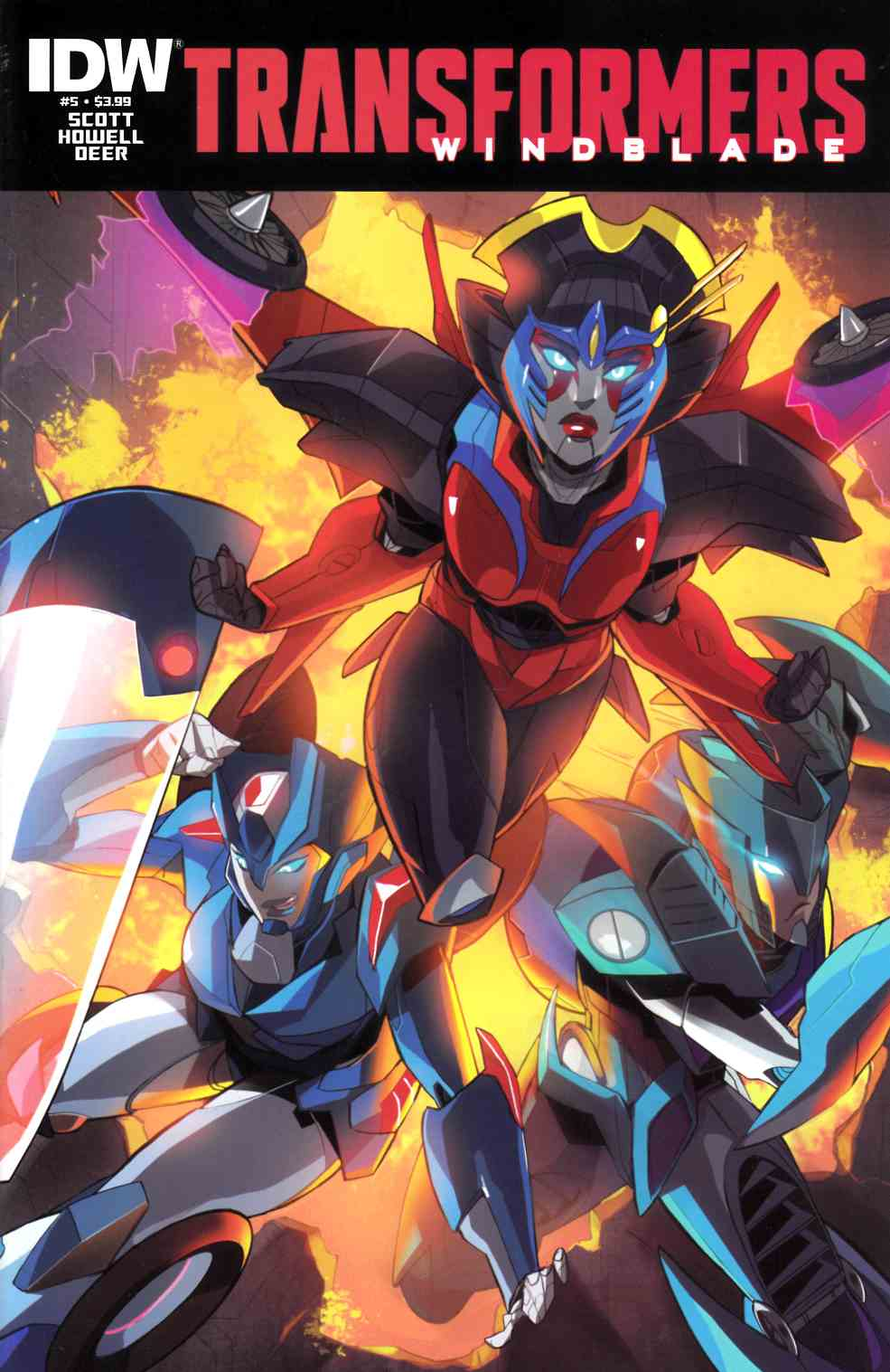 Transformers Windblade #5 [IDW Comic] THUMBNAIL