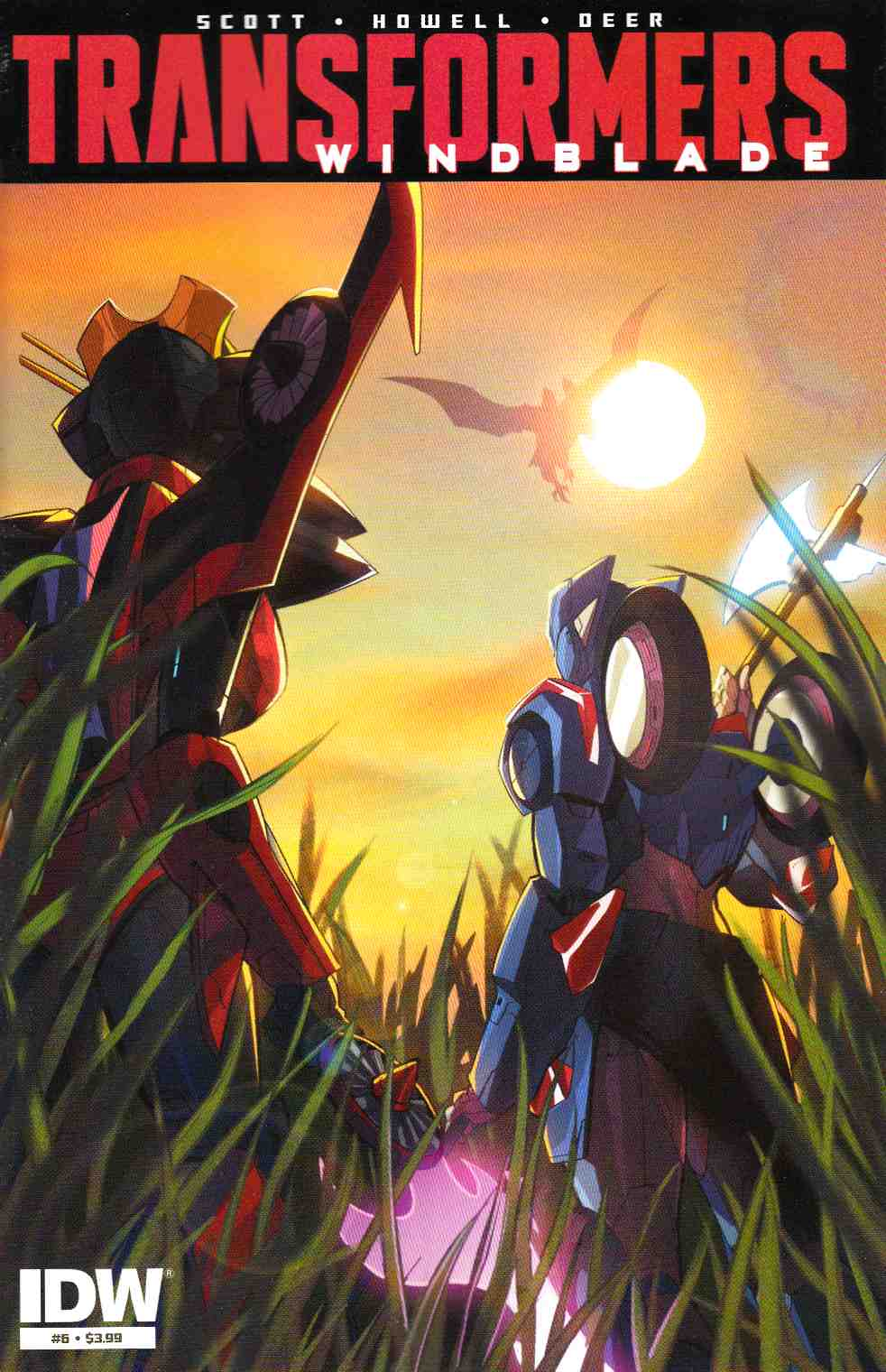 Transformers Windblade #6 [IDW Comic] THUMBNAIL