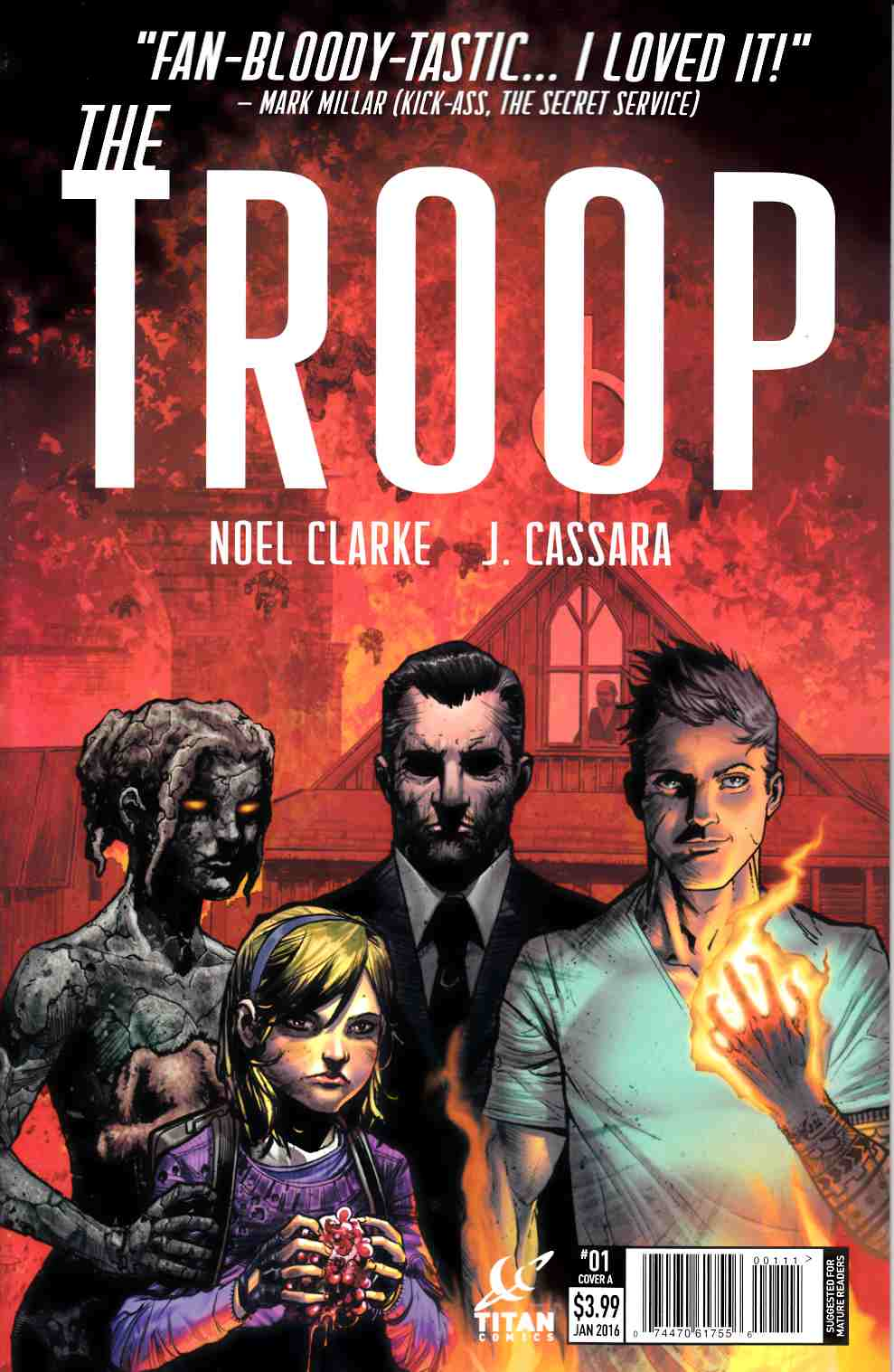 The Troop #1 [Titan Comic]