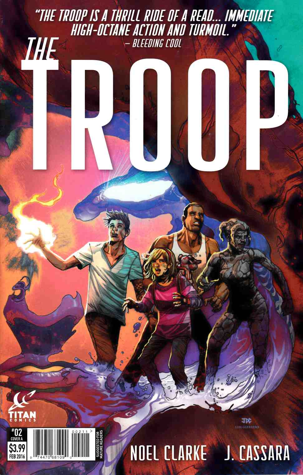 The Troop #2 Cover A [Titan Comic]