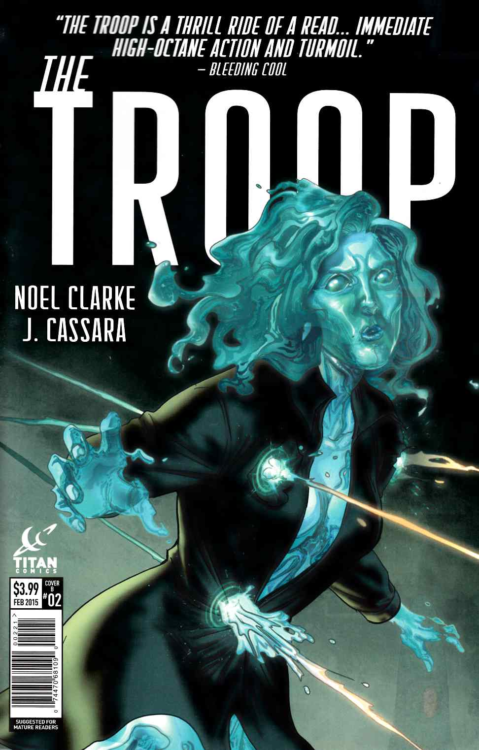 The Troop #2 Subscription Cover [Titan Comic]