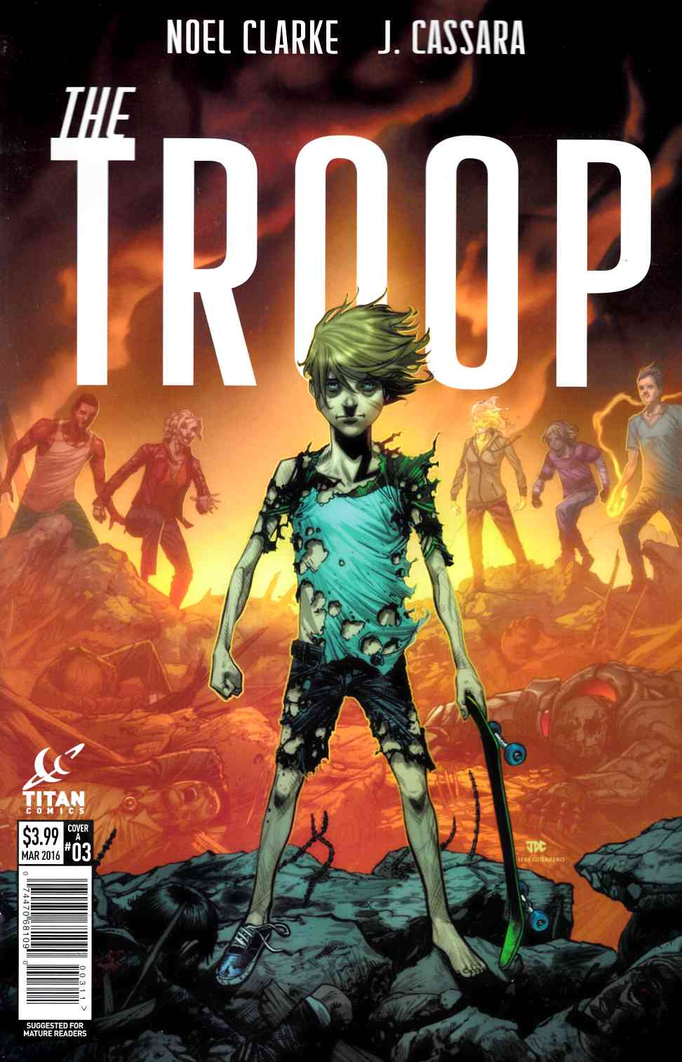 The Troop #3 Cover A- Cassara [Titan Comic]