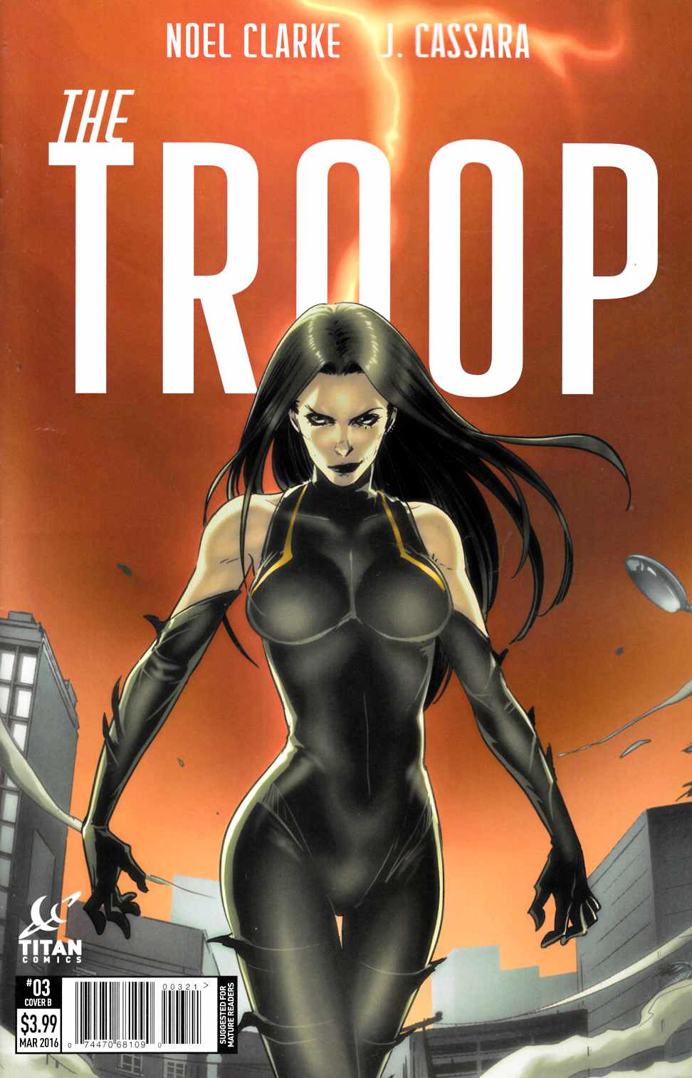 The Troop #3 Cover B- Li [Titan Comic]