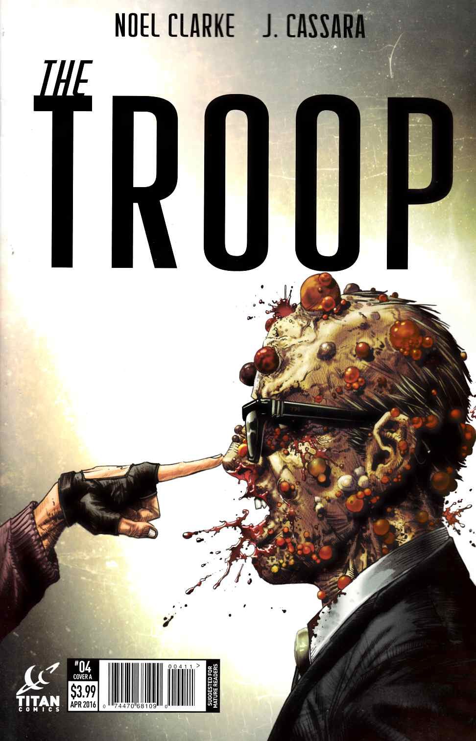The Troop #4 Cover A [Titan Comic]