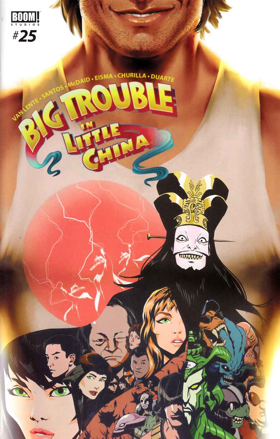 Big Trouble in Little China #25 [Boom Comic] THUMBNAIL