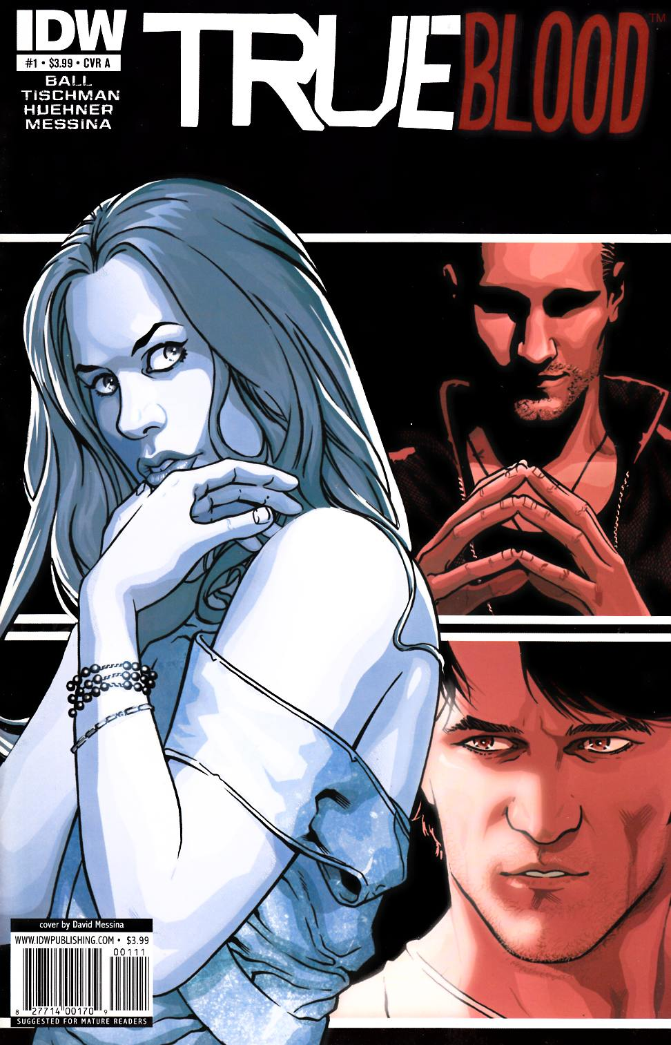 True Blood #1 Cover A [IDW Comic] THUMBNAIL