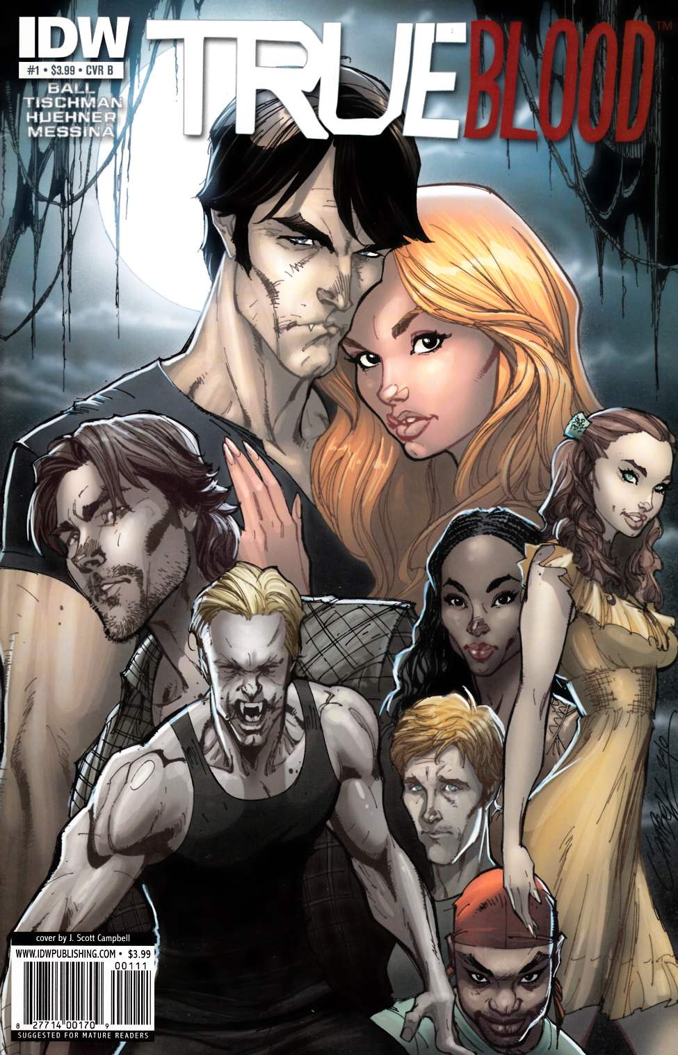 True Blood #1 Cover B [IDW Comic] THUMBNAIL
