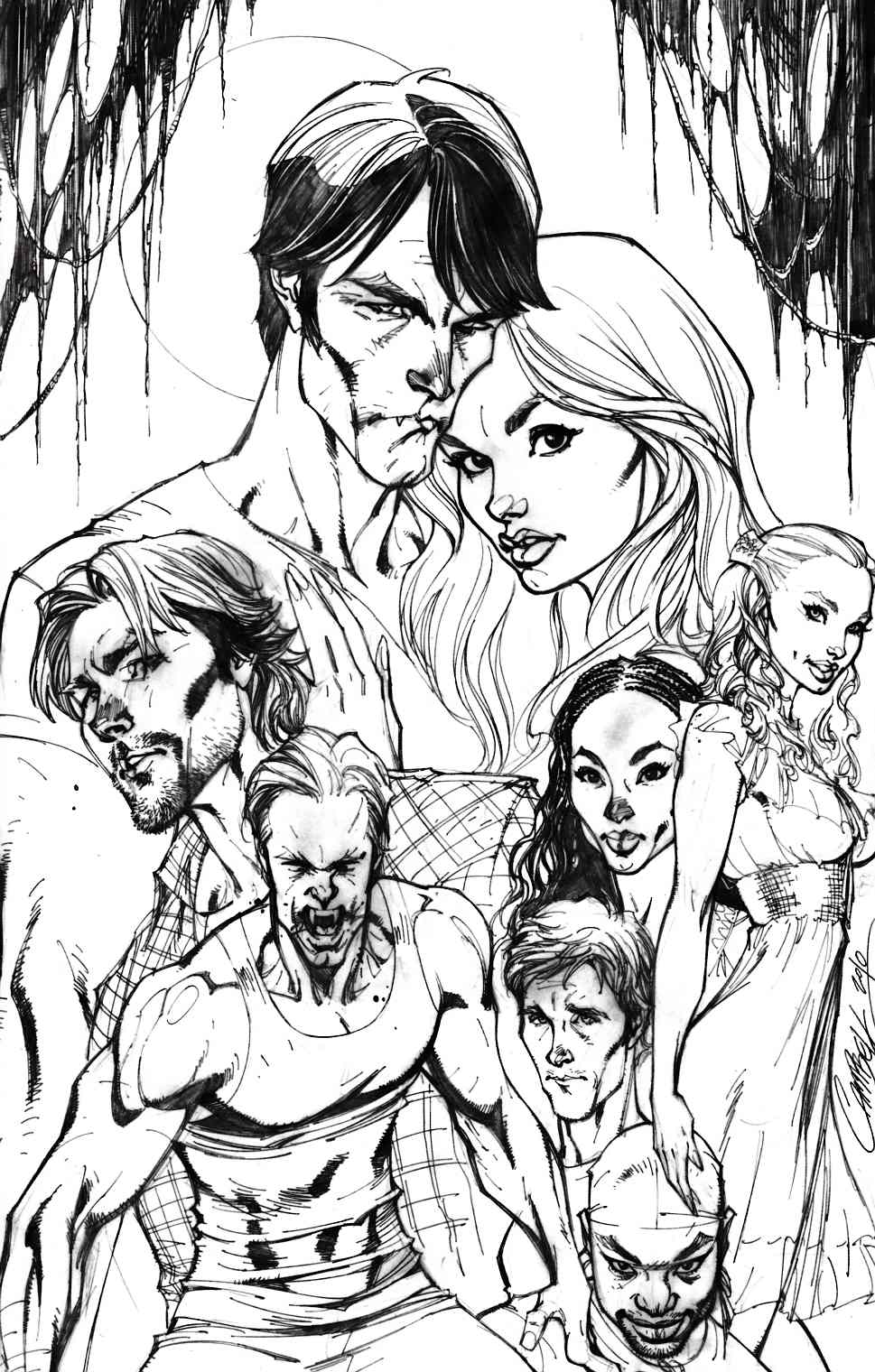True Blood #1 Cover RI-A [IDW Comic] THUMBNAIL