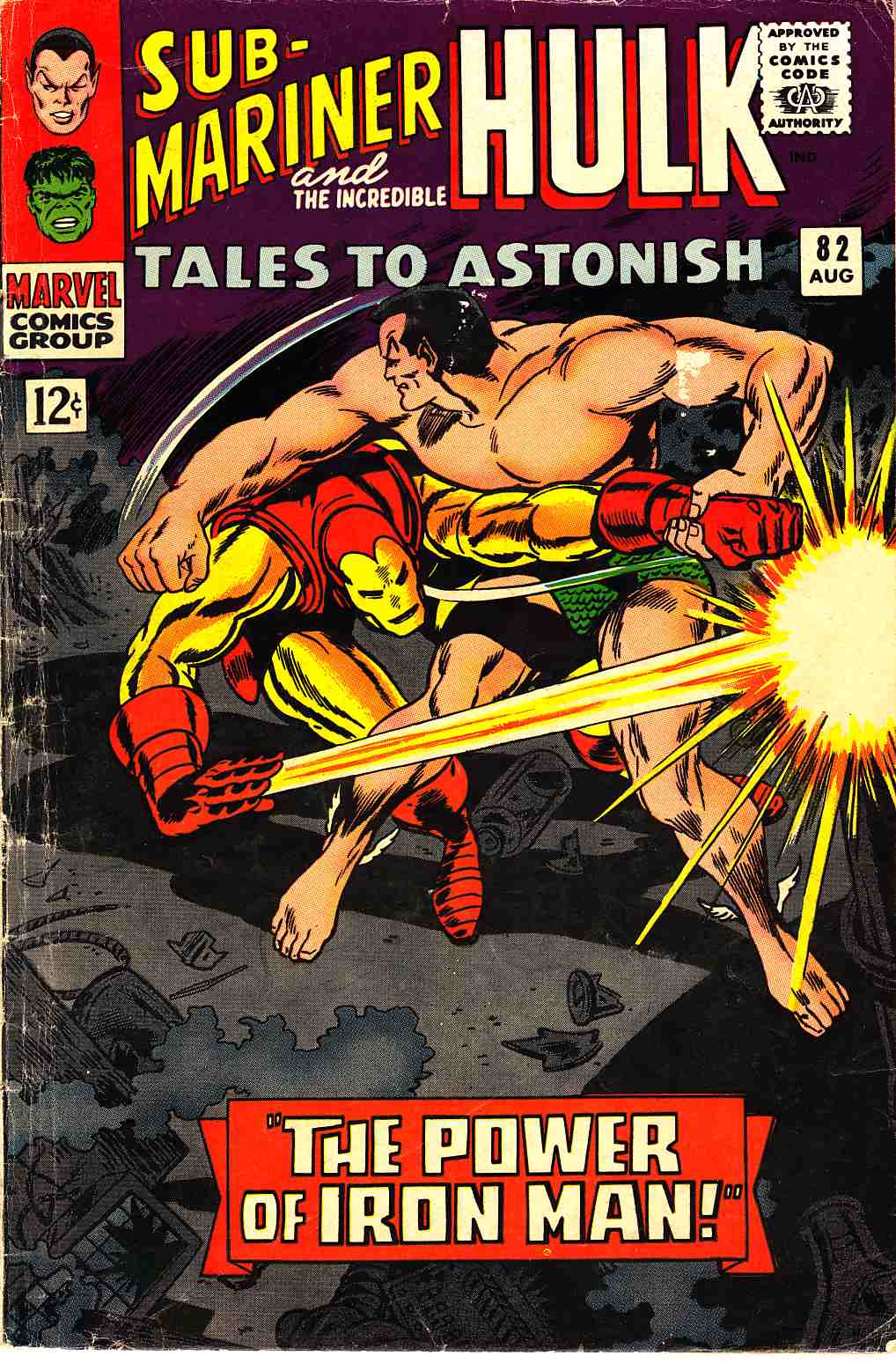 Tales to Astonish #82 [Marvel Comic] LARGE