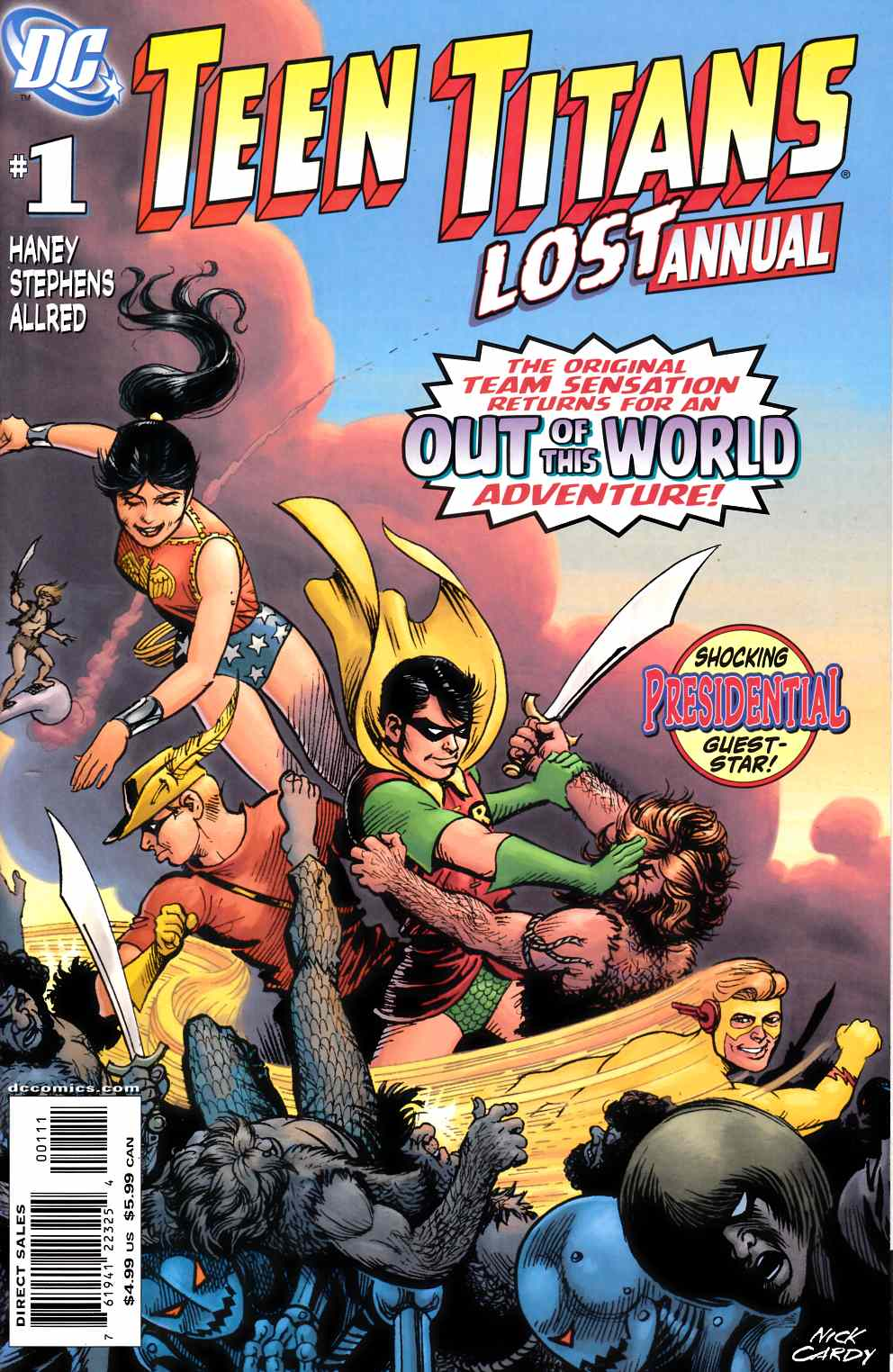 Teen Titans The Lost Annual #1 Near Mint (9.4) [DC Comic] THUMBNAIL