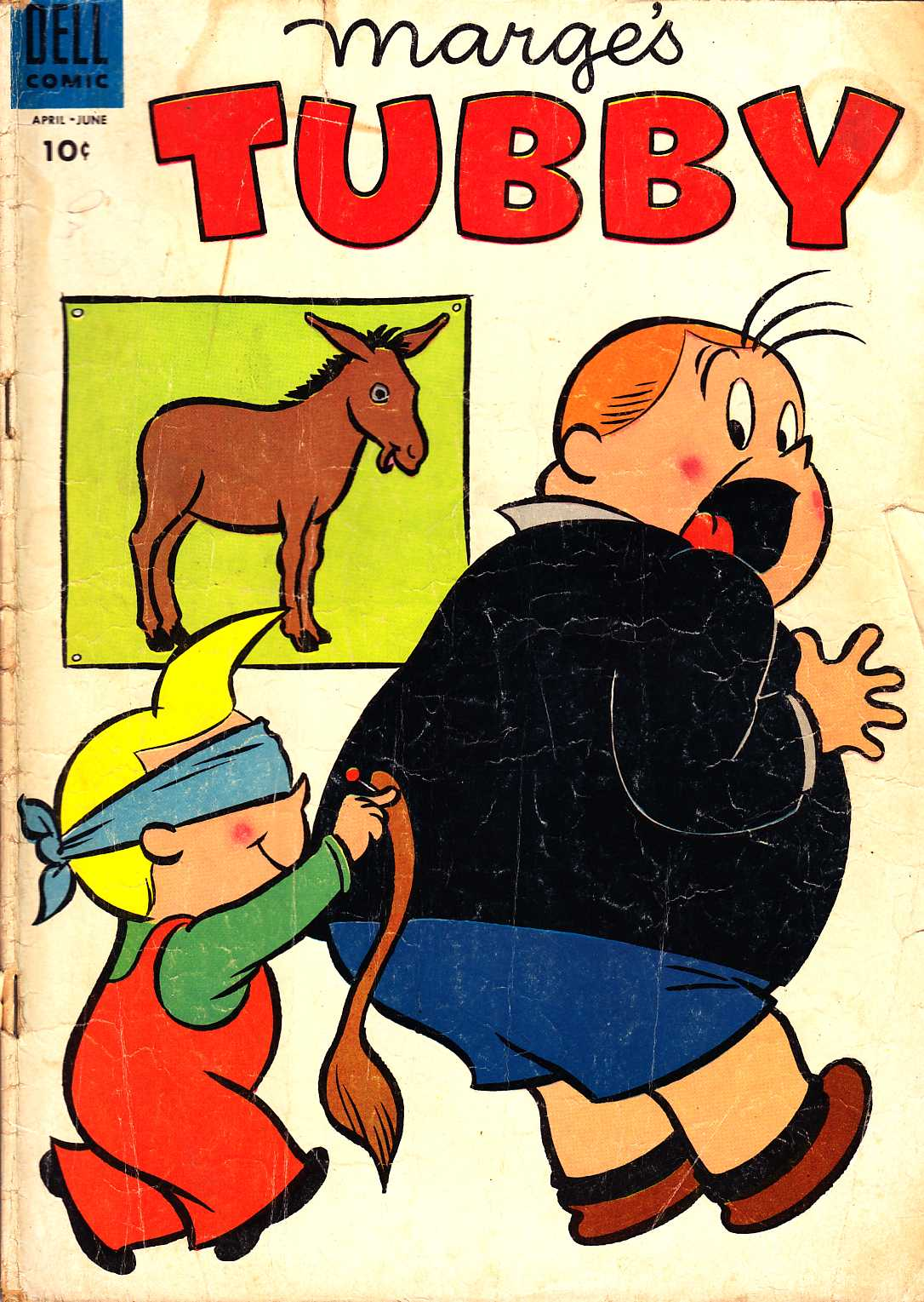 Marge's Tubby #12 [Dell Comic] LARGE