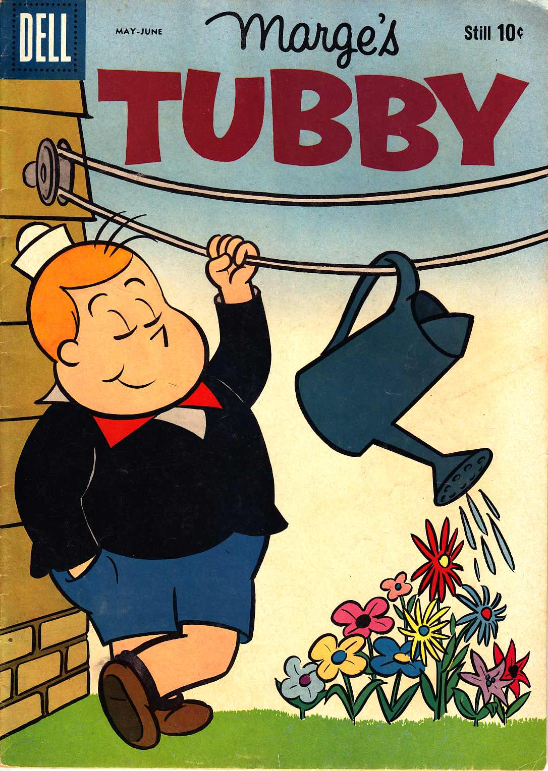 Marge's Tubby #34 [Dell Comic] LARGE