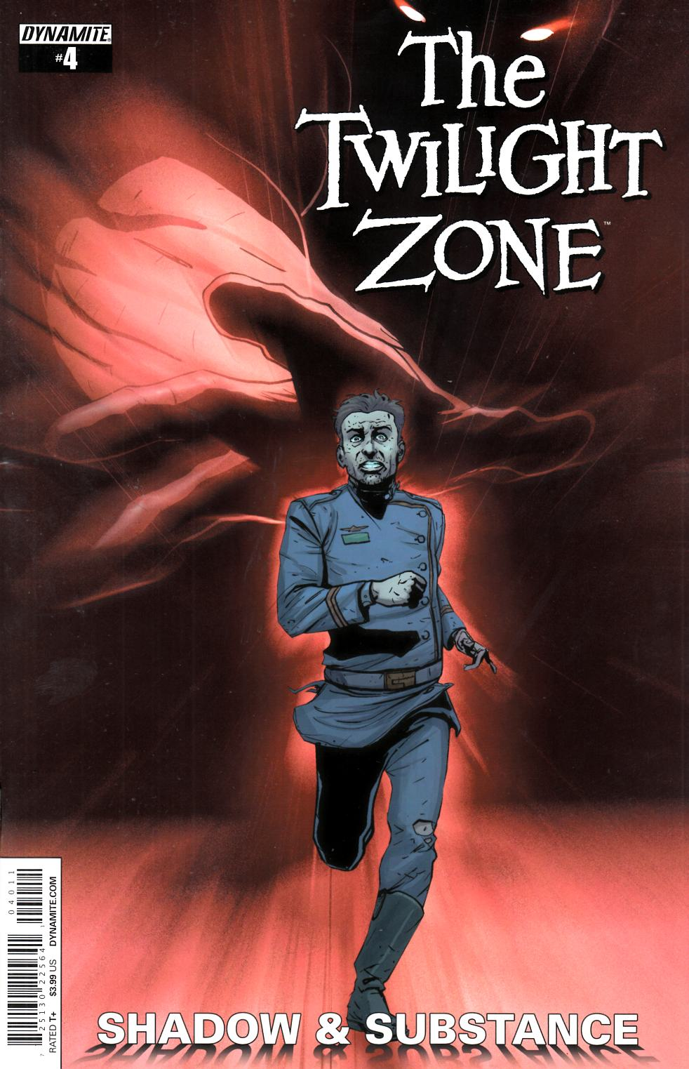 Twilight Zone S&S #4 Cover A- Vilanova [Dynamite Comic] THUMBNAIL