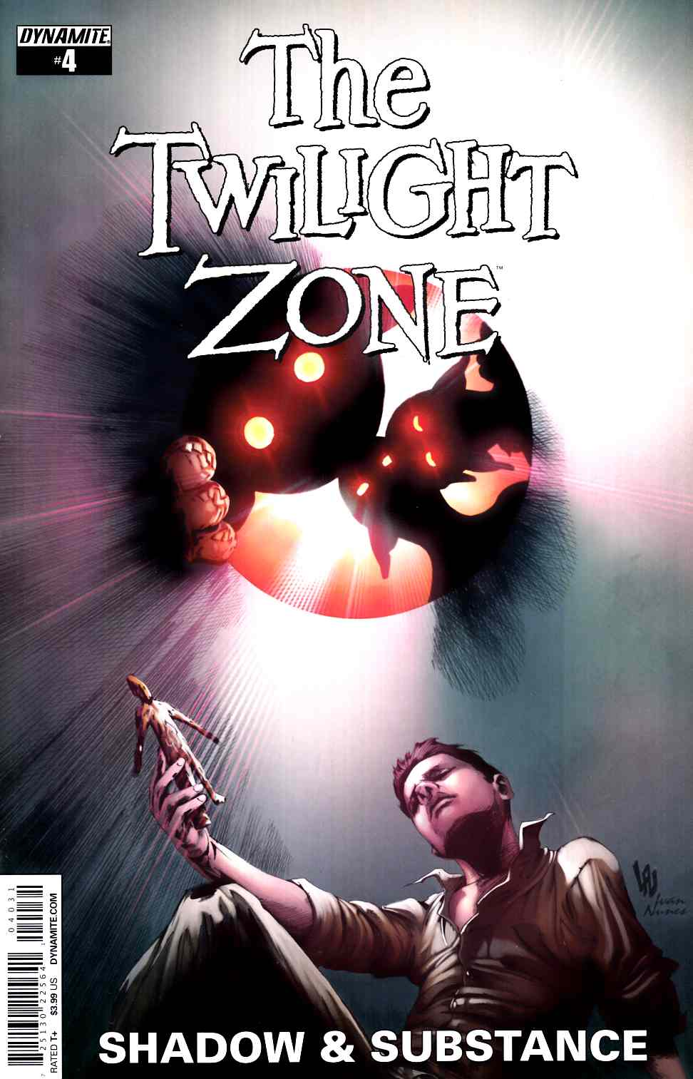 Twilight Zone S&S #4 Cover C- Lau Subscription [Dynamite Comic] THUMBNAIL