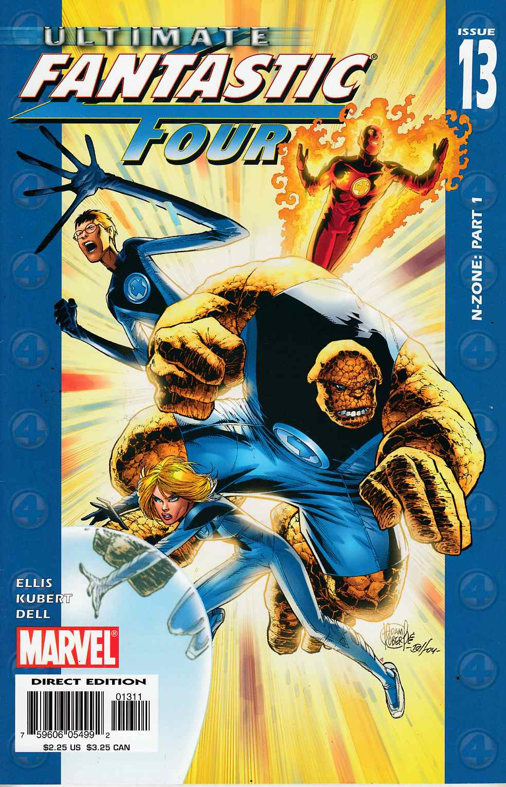 Ultimate Fantastic Four #13 Very Fine (8.0) [Marvel Comic] THUMBNAIL