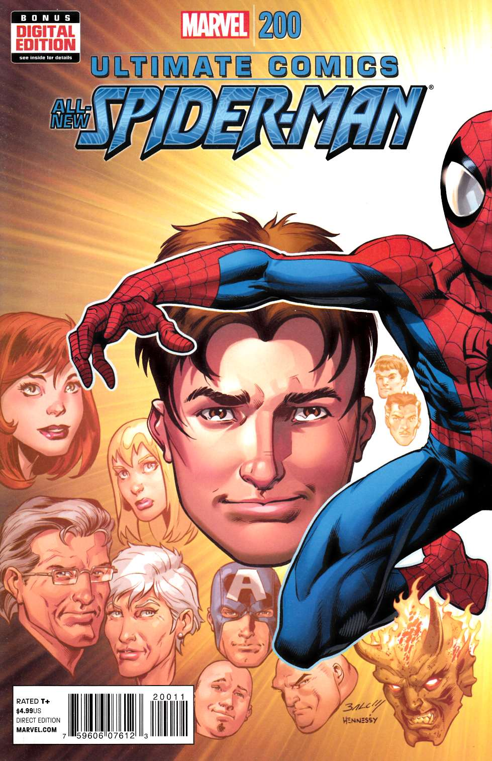 Ultimate Spider-Man #200 Bagley Cover [Comic]