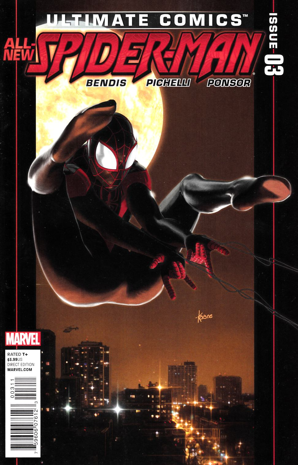 Ultimate Comics Spider-Man #3 [Marvel Comic]
