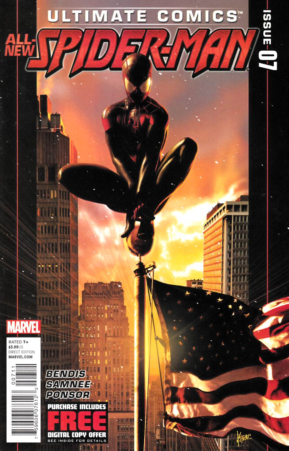 Ultimate Comics Spider-Man #7 [Marvel Comic]