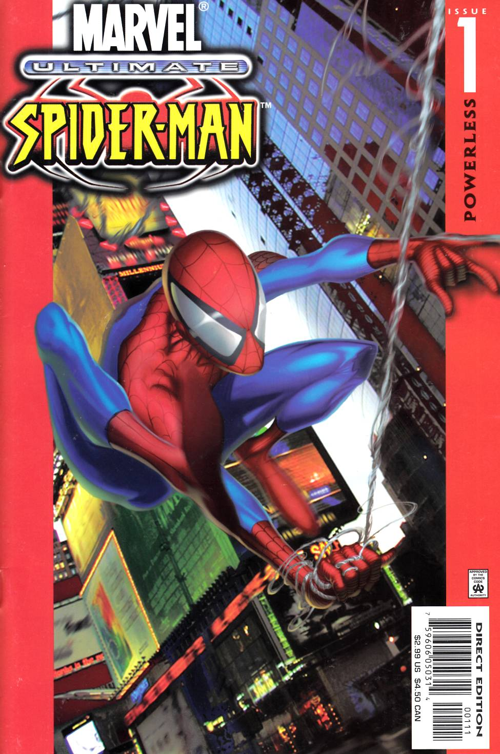 Ultimate Spider-Man #1 [Marvel Comic]_THUMBNAIL