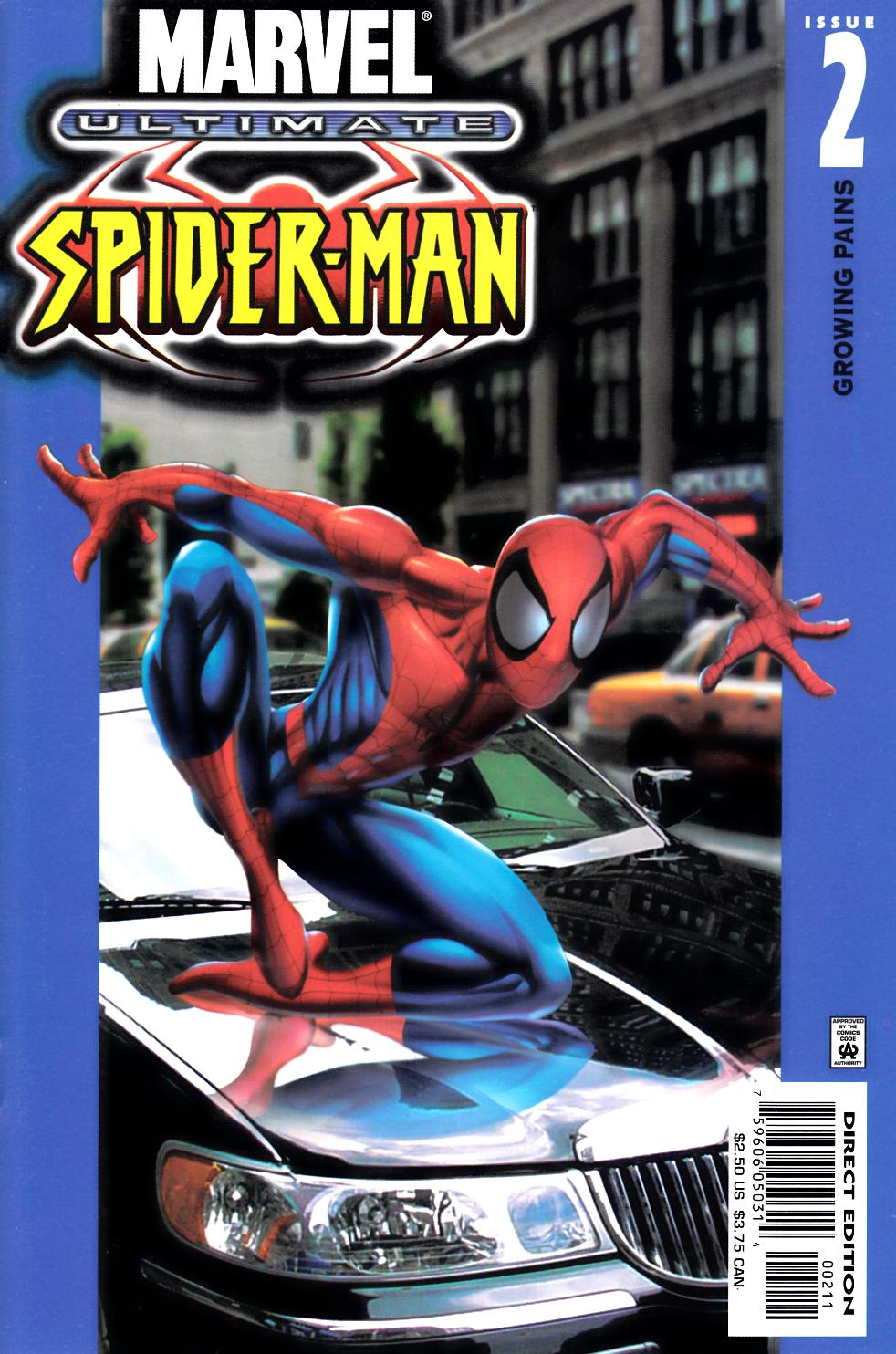 Ultimate Spider-Man #2 Cover A [Marvel Comic]_THUMBNAIL