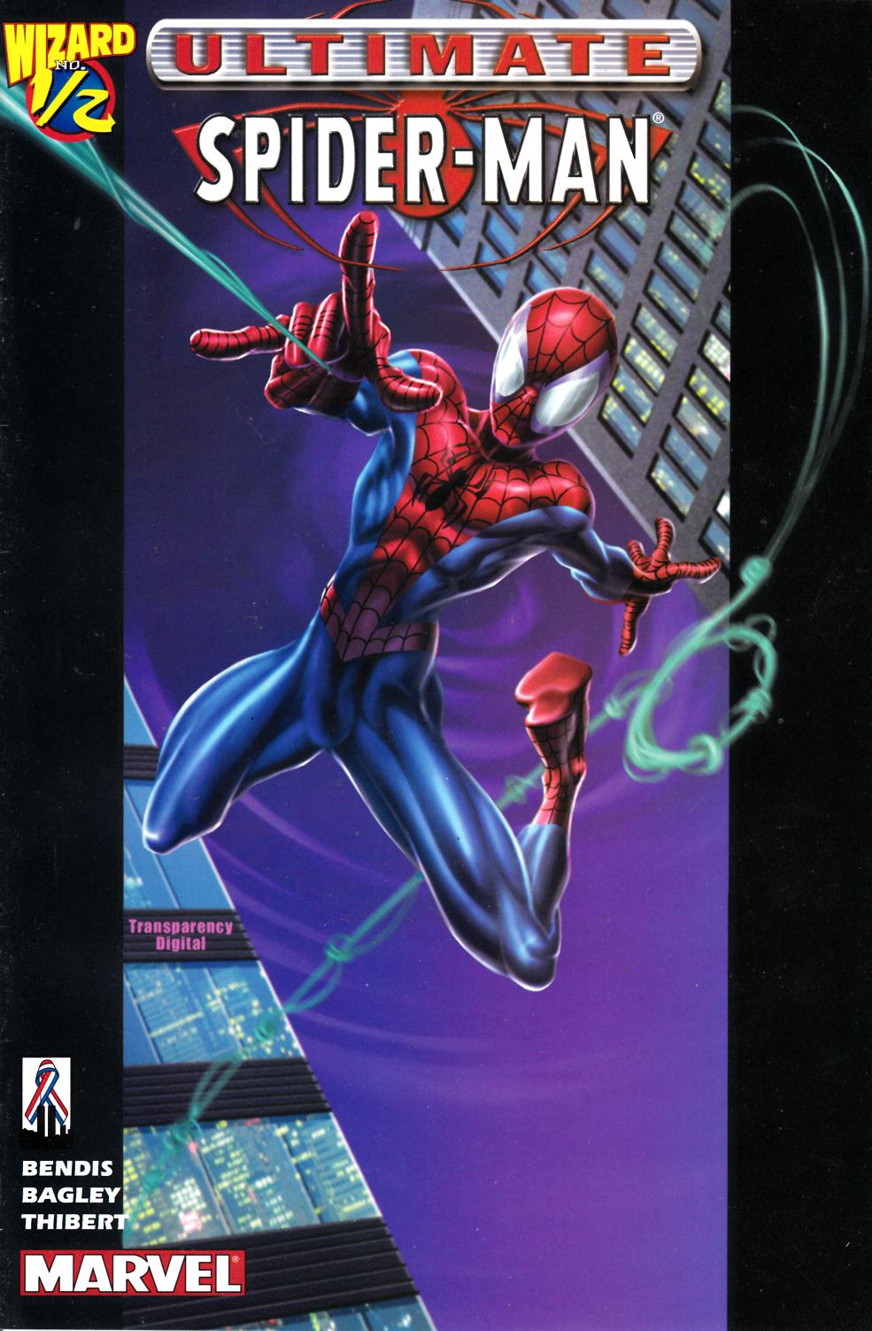 Ultimate Spider-Man #1/2 Very Fine (8.0) [Marvel Comic] THUMBNAIL