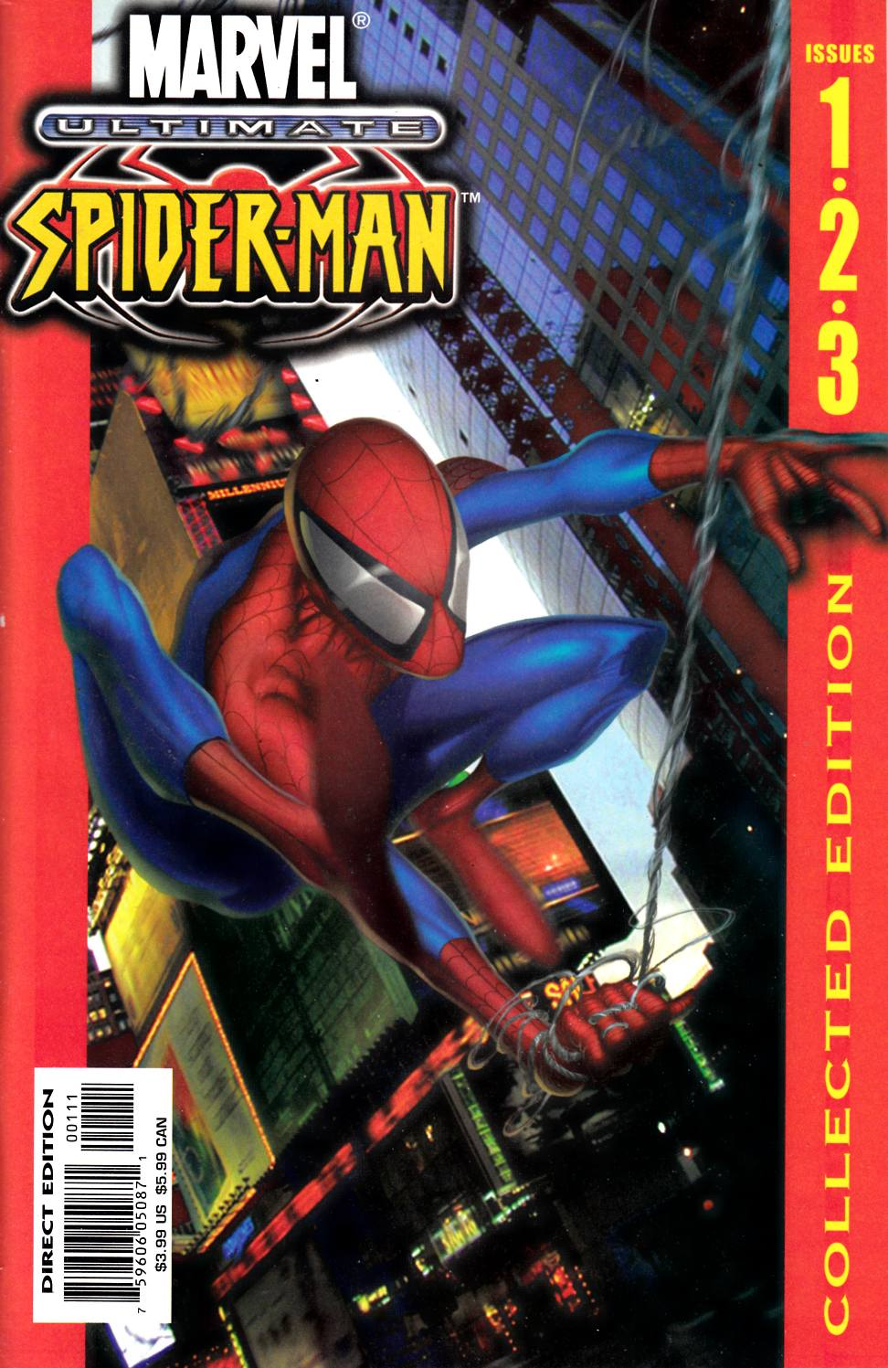 Ultimate Spider-Man Collected Edition #1 Very Fine (8.0) [Marvel Comic] THUMBNAIL