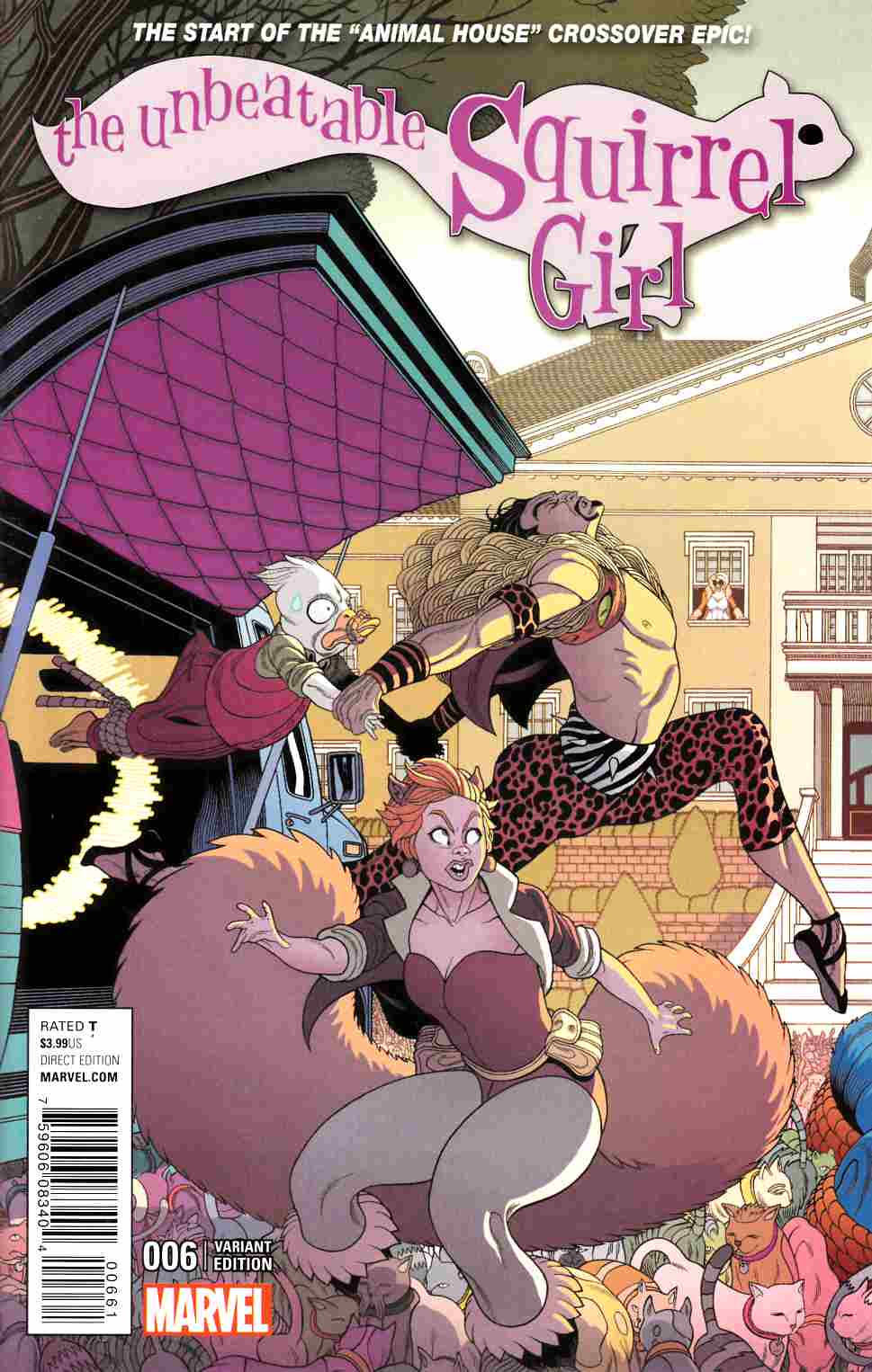 Unbeatable Squirrel Girl #6 Moore Connecting A Variant Cover [Marvel Comic] THUMBNAIL