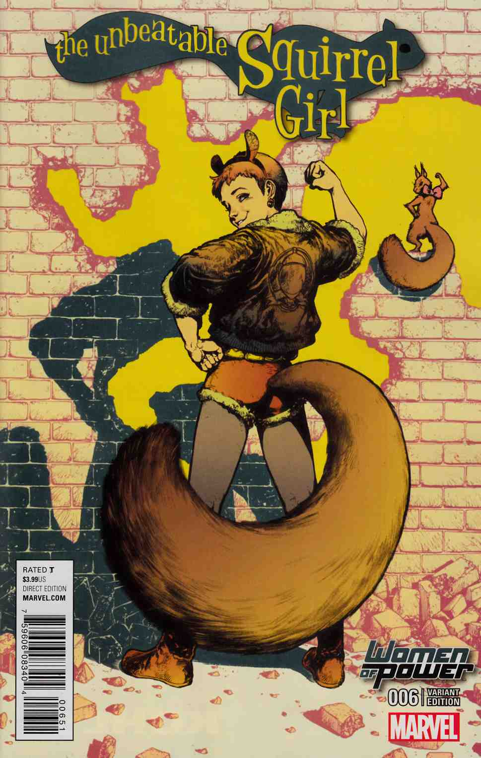 Unbeatable Squirrel Girl #6 WOP Variant Cover [Marvel Comic] THUMBNAIL