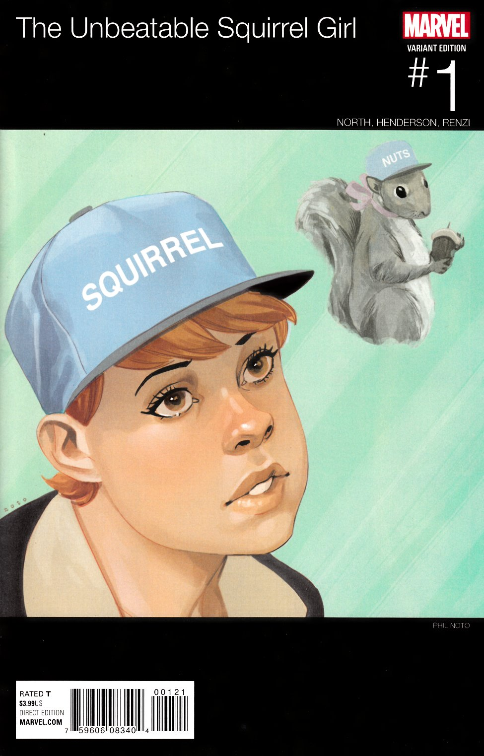 Unbeatable Squirrel Girl #1 Noto Hip Hop Variant Cover [Marvel Comic]_THUMBNAIL