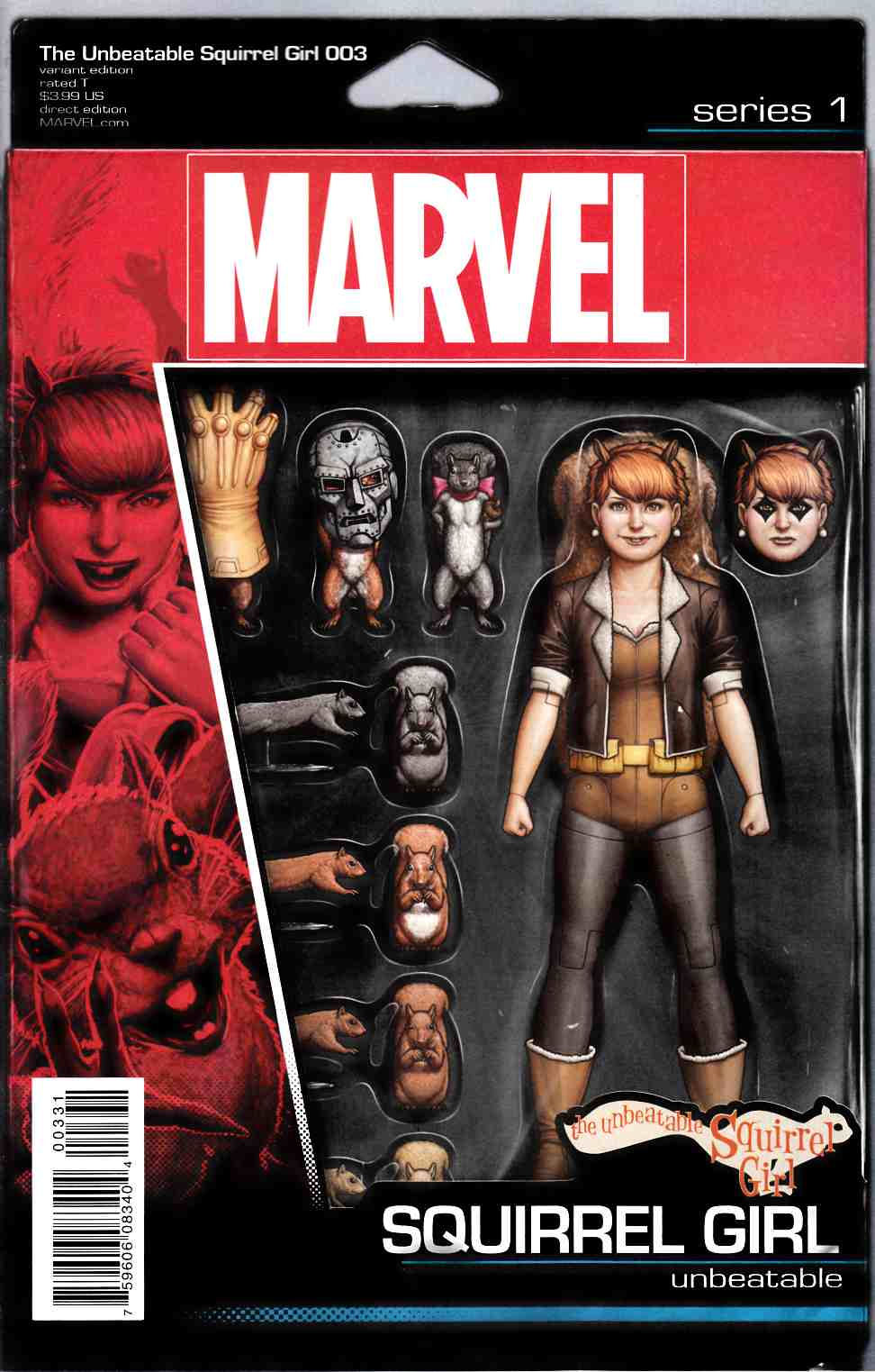 Unbeatable Squirrel Girl #3 Action Figure Variant Cover [Marvel Comic]_THUMBNAIL