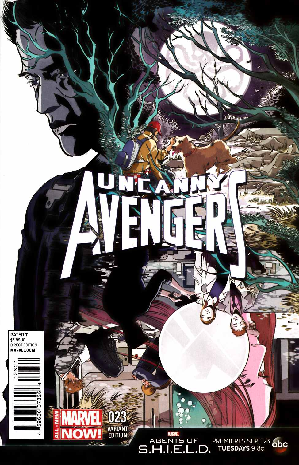 Uncanny Avengers #23 Agents of Shield Variant Cover [Comic] LARGE