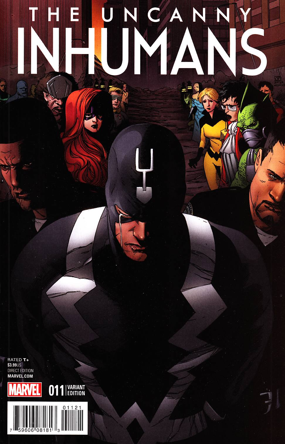 Uncanny Inhumans #11 CW Reenactment Variant Cover [Marvel Comic] LARGE