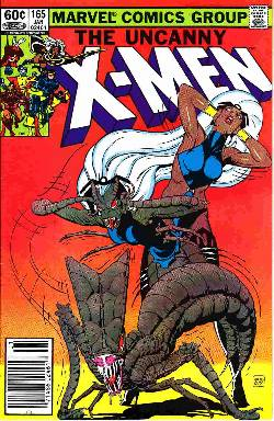 Uncanny X-Men #165 Newsstand Edition Very Fine (8.0) [Marvel Comic]_LARGE