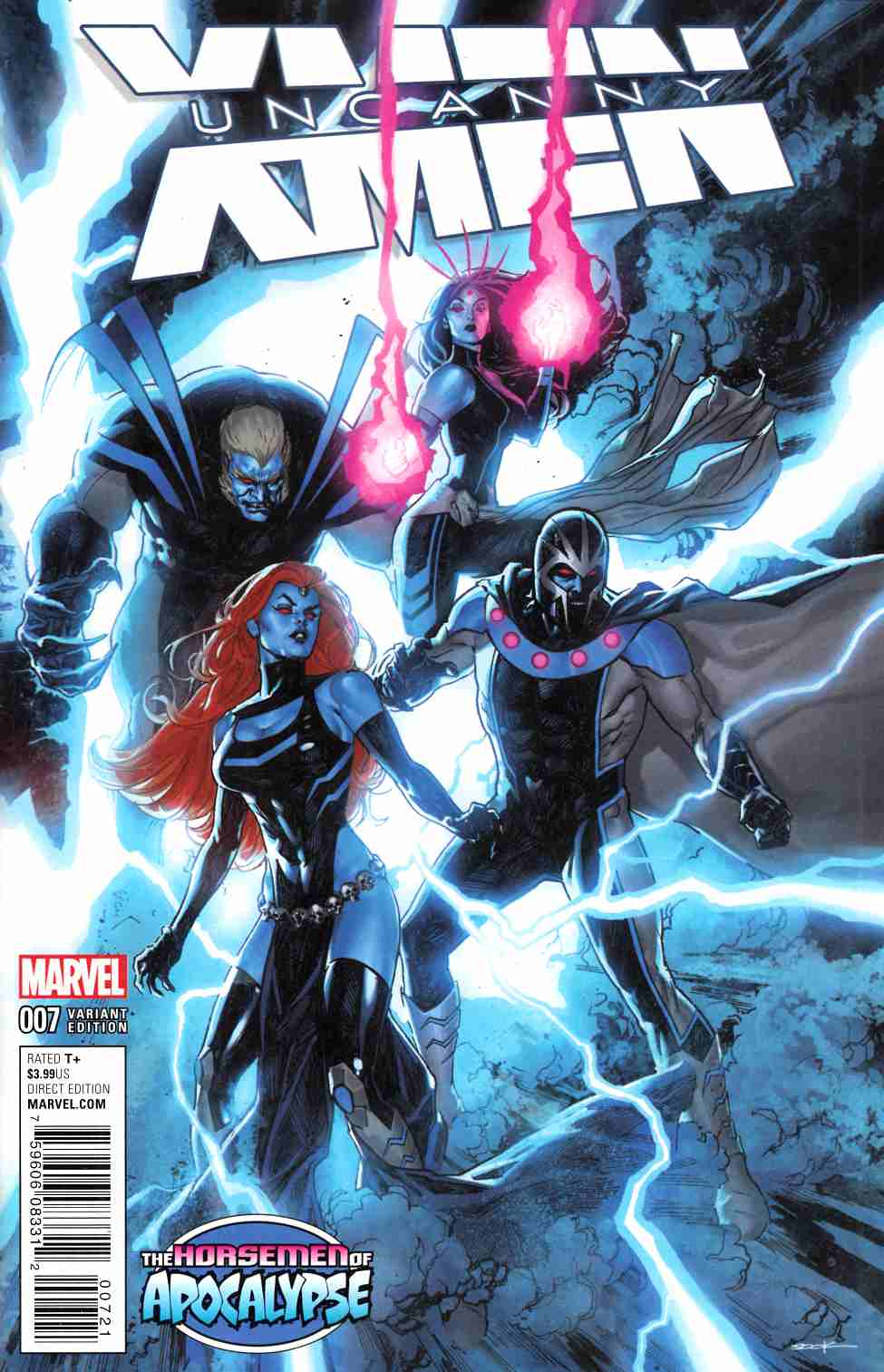 Uncanny X-Men #7 Sook AoA Variant Cover [Marvel Comic] LARGE