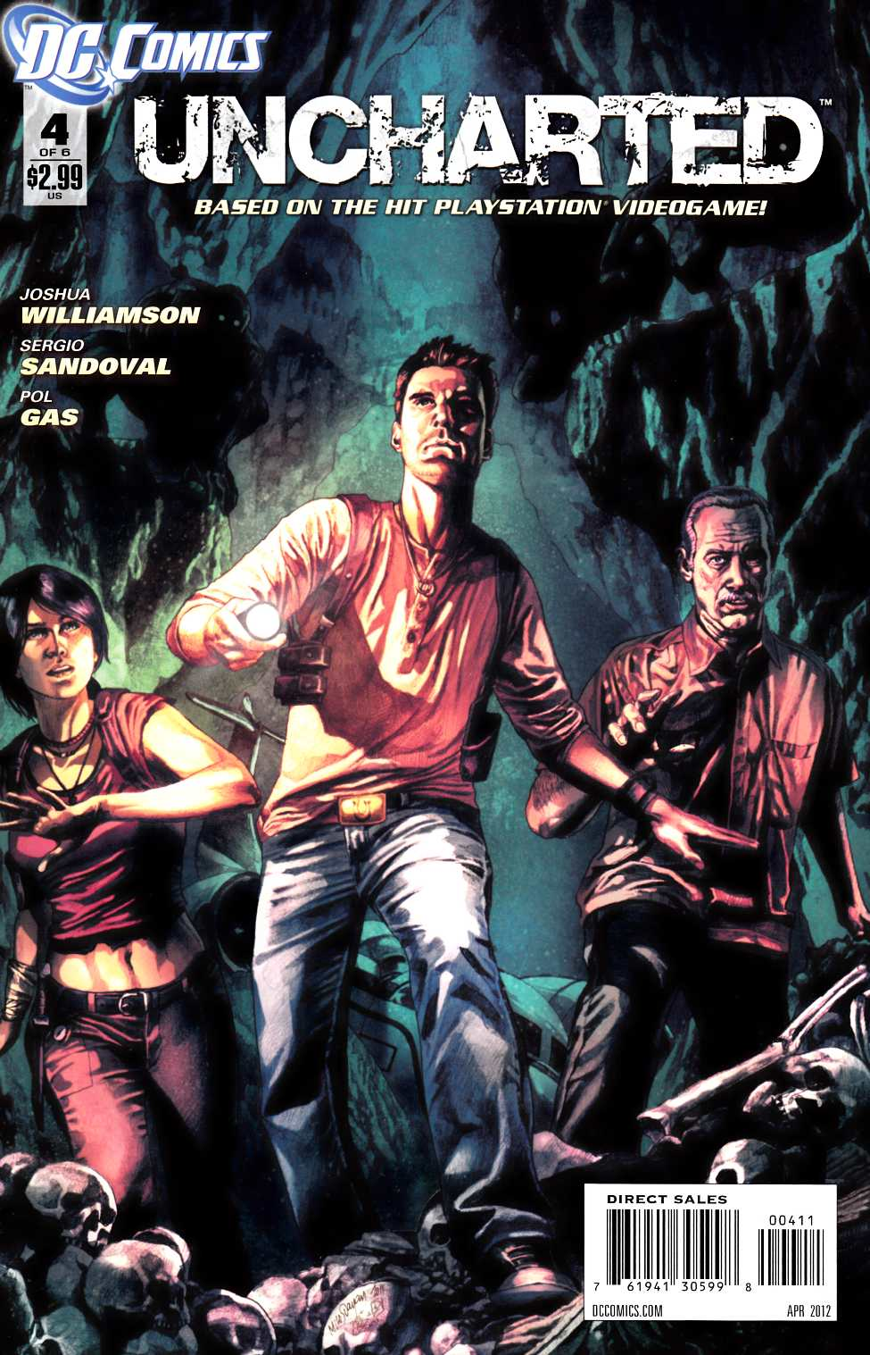 Uncharted #4 [DC Comic] THUMBNAIL