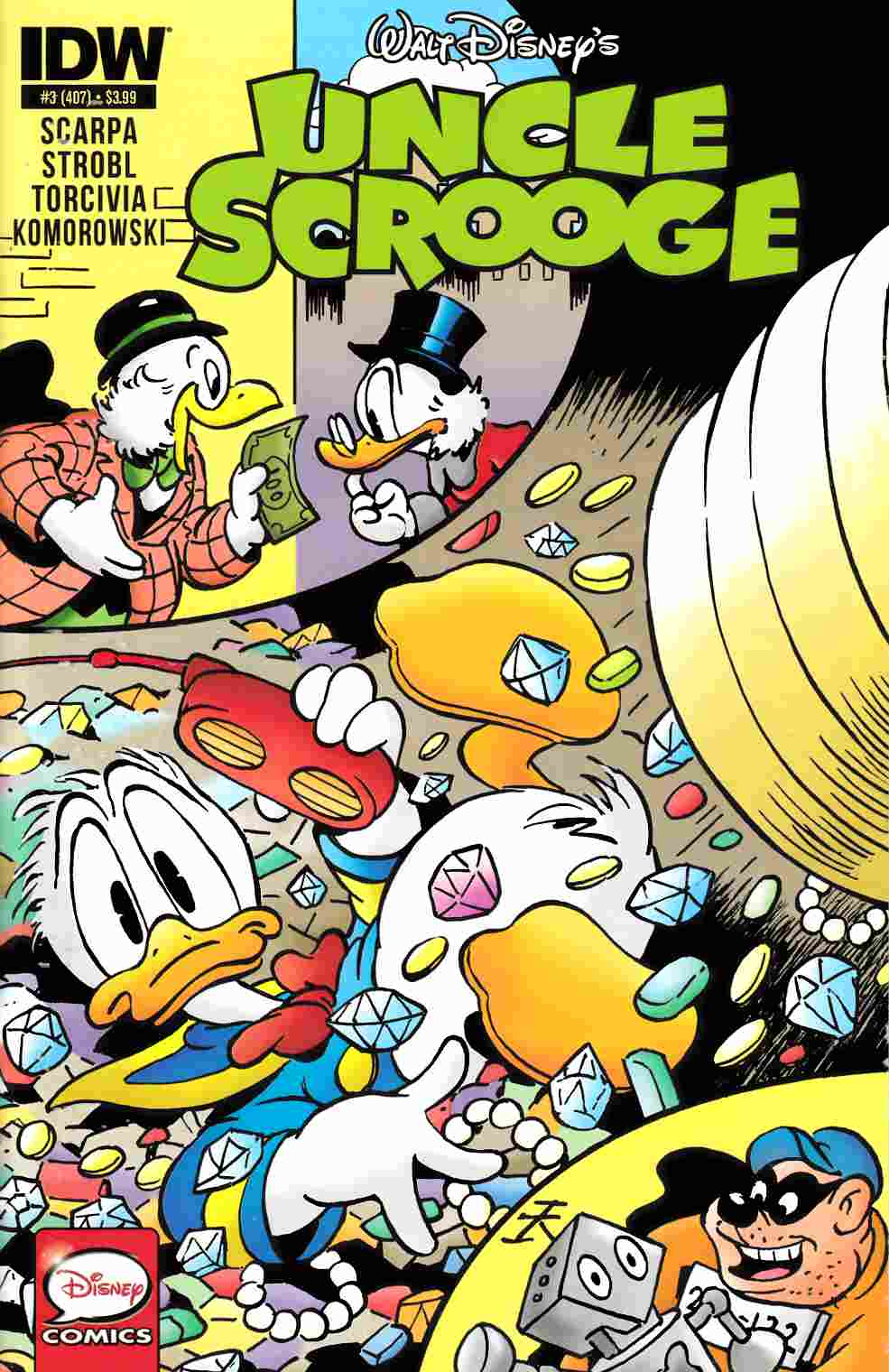 Uncle Scrooge #3 [IDW Comic] THUMBNAIL