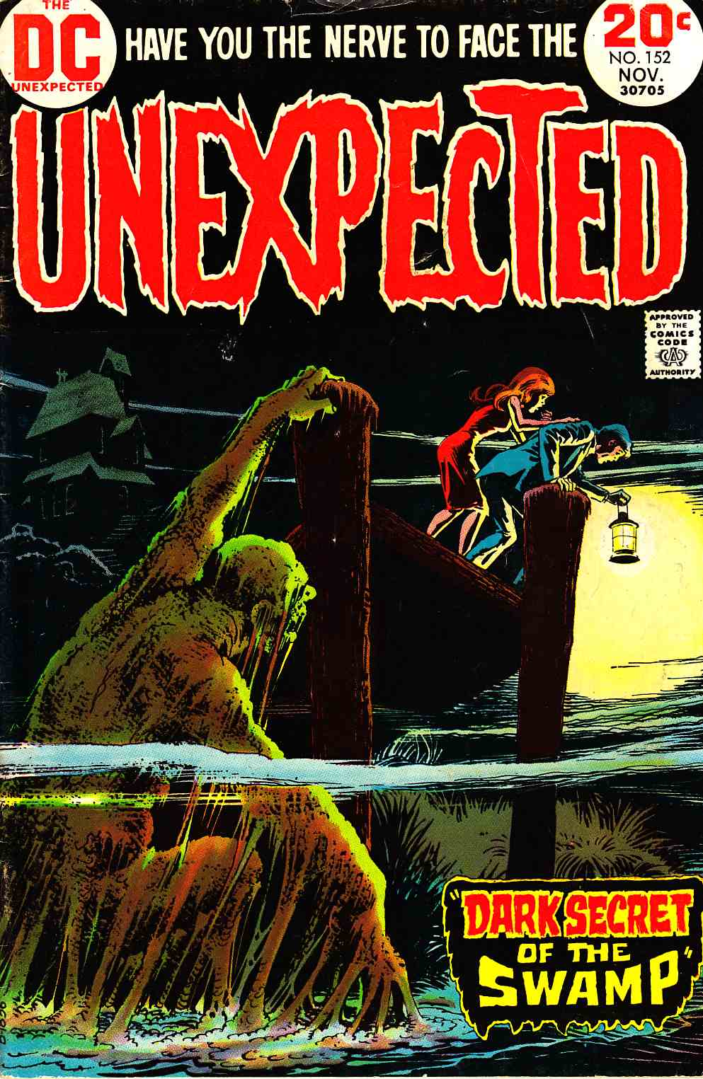 Unexpected #152 Good Plus (2.5) [DC Comic] THUMBNAIL