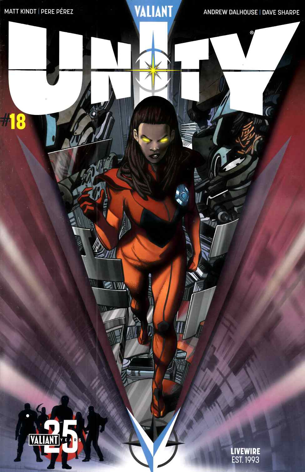 Unity #18 Cover C- Sandoval [Valiant Comic] THUMBNAIL